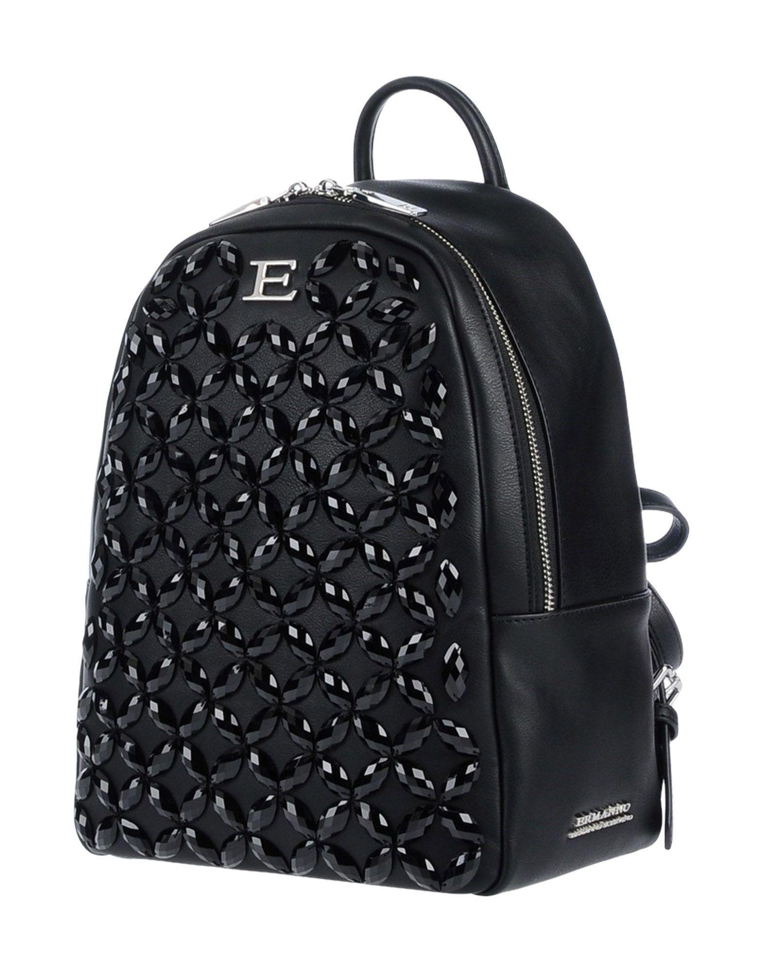 Lyst Ermanno Backpacks Black Scervino Bags amp; In Bum 0Spxqr0