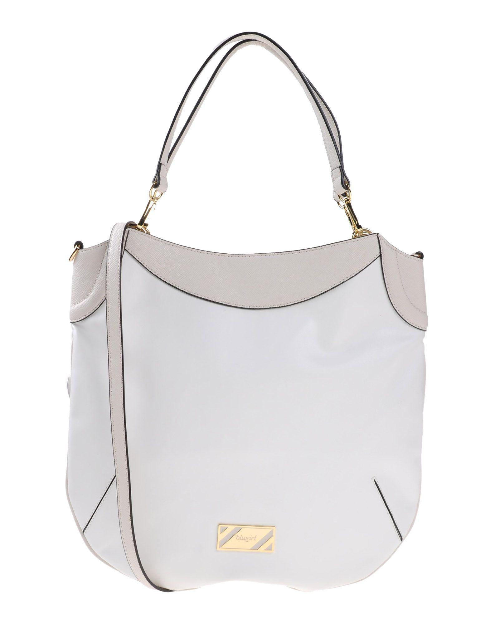 38ca2d3e4eb1 Lyst - Blugirl Blumarine Handbag in White