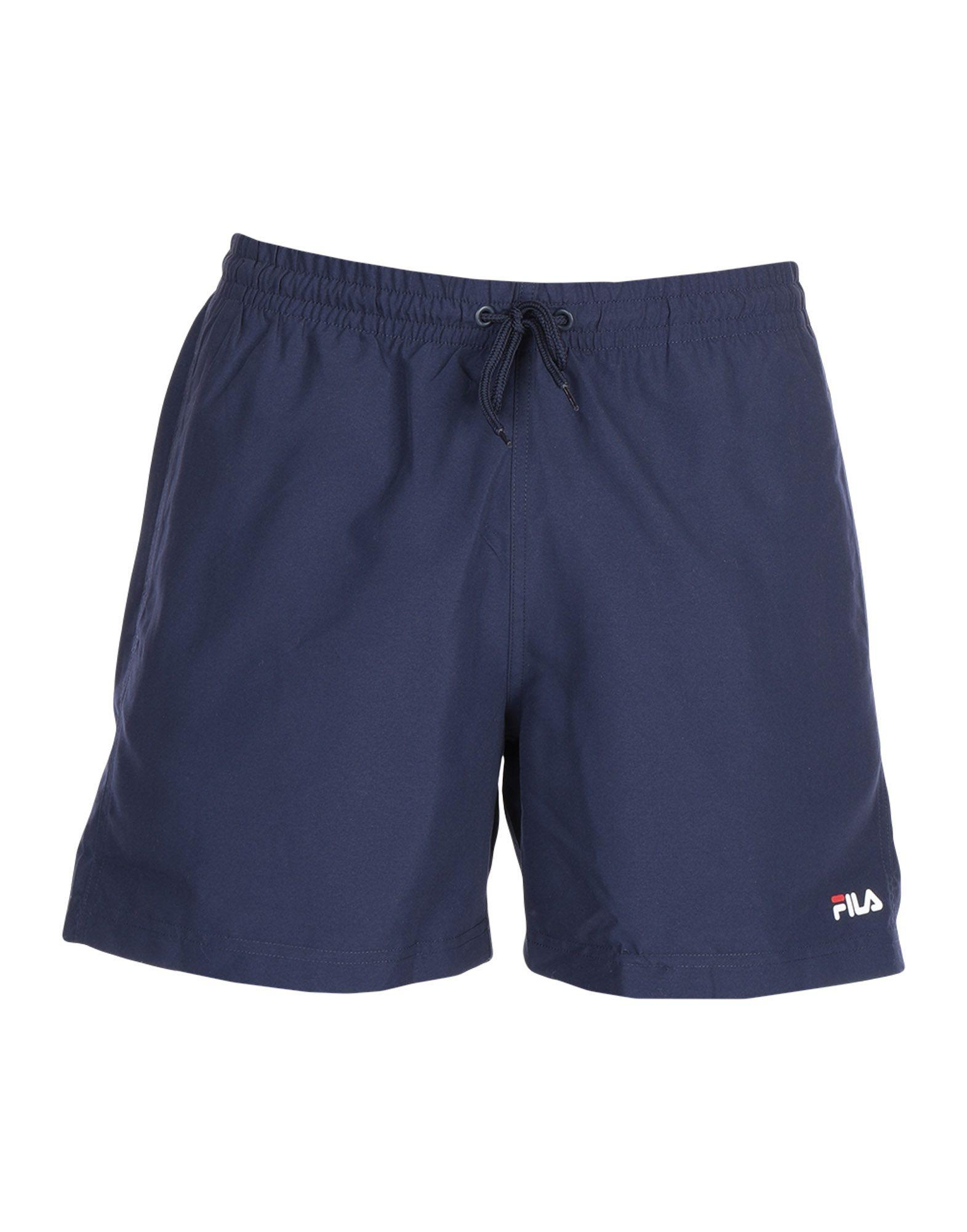 ef26306ad3232 Fila Swimming Trunks in Blue for Men - Save 6% - Lyst
