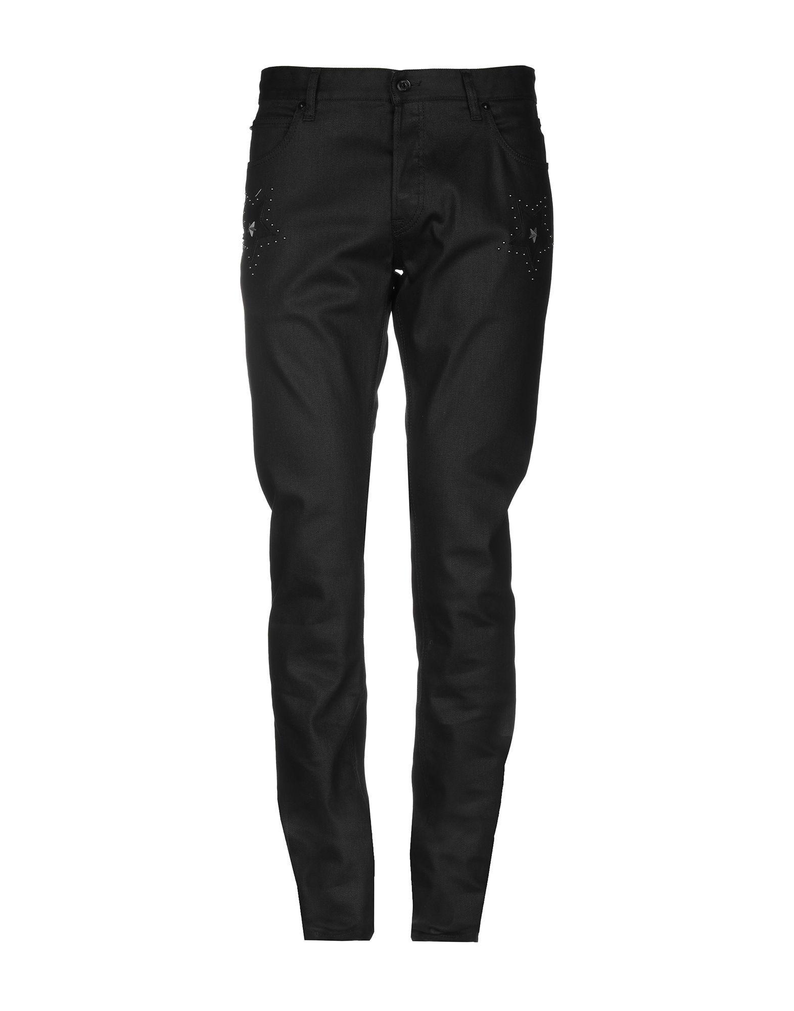 6646f7d4fc77 Lyst - Pantalon en jean Just Cavalli pour homme en coloris Noir