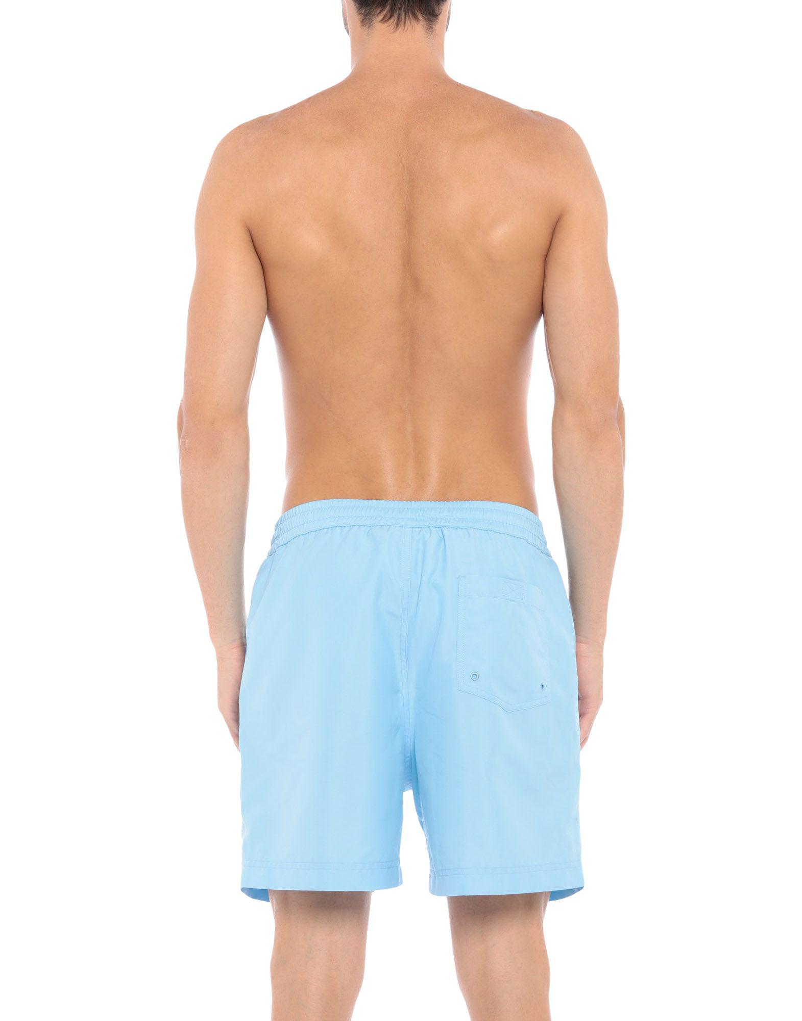7d68d16775609 Lyst - Carhartt Swimming Trunks in Blue for Men