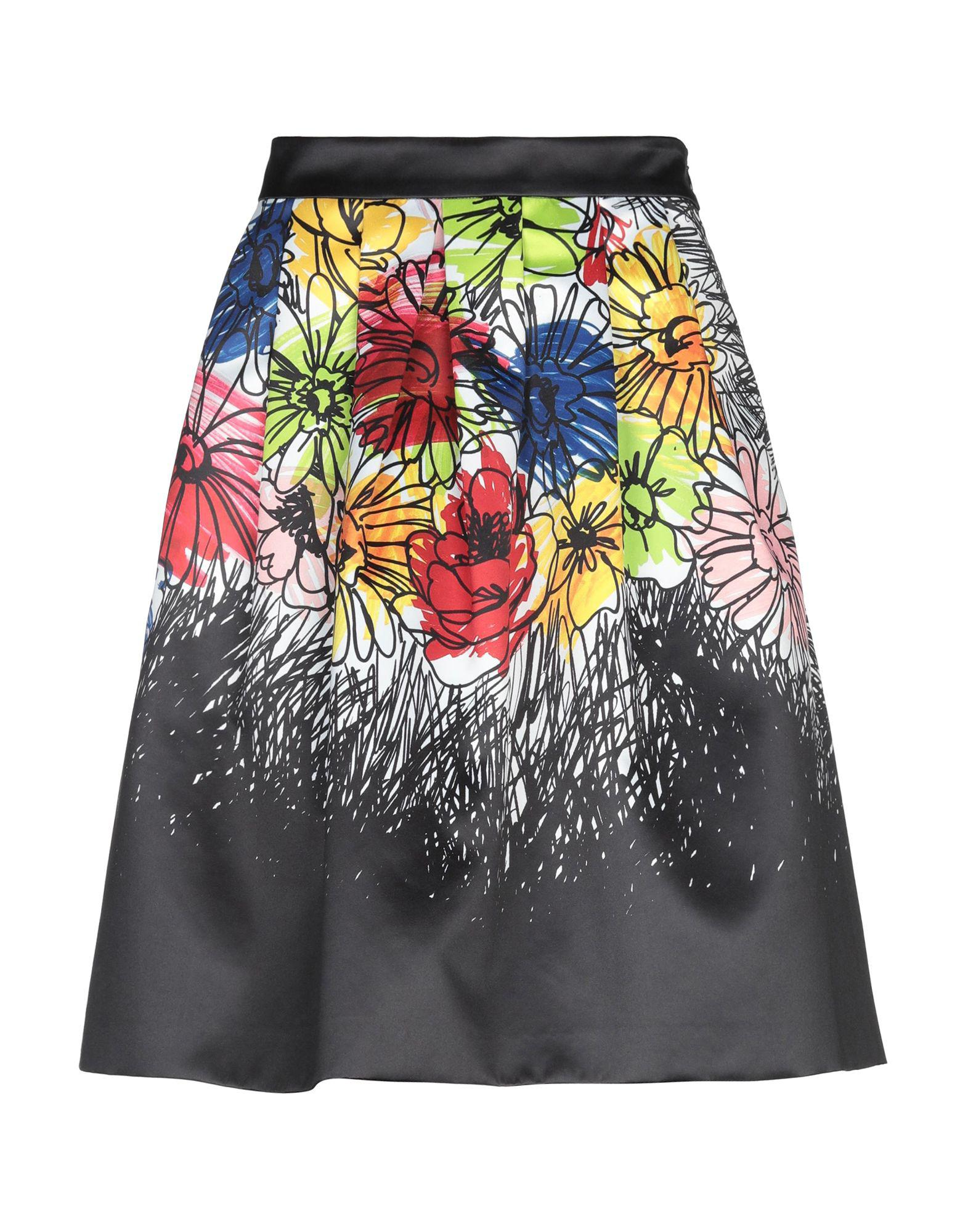 2c67920fb2 Boutique Moschino Knee Length Skirts in Black - Lyst