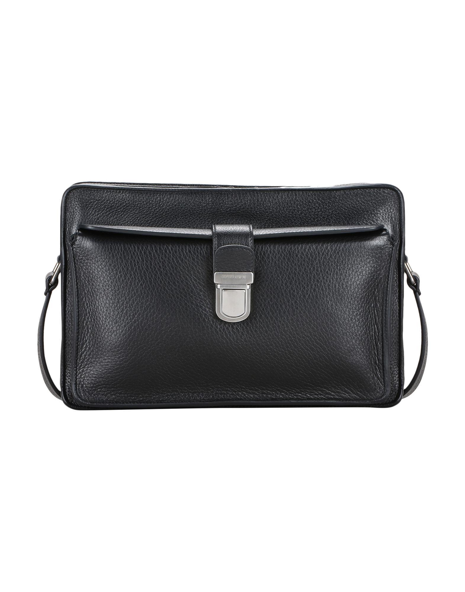 a63fc7861d18 Lyst - Giorgio Armani Cross-body Bags in Brown for Men