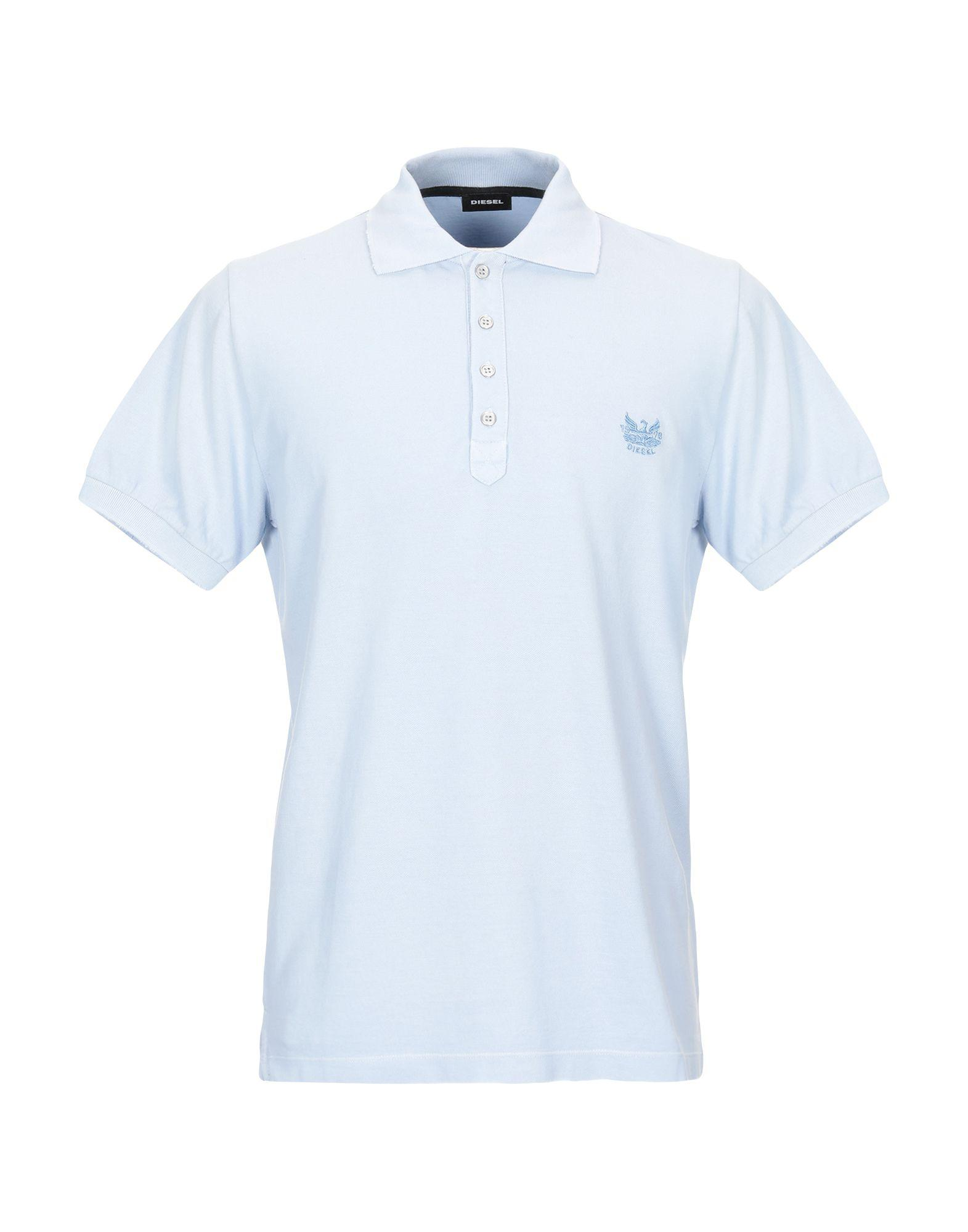 79db45f9 DIESEL - Blue Polo Shirt for Men - Lyst. View fullscreen