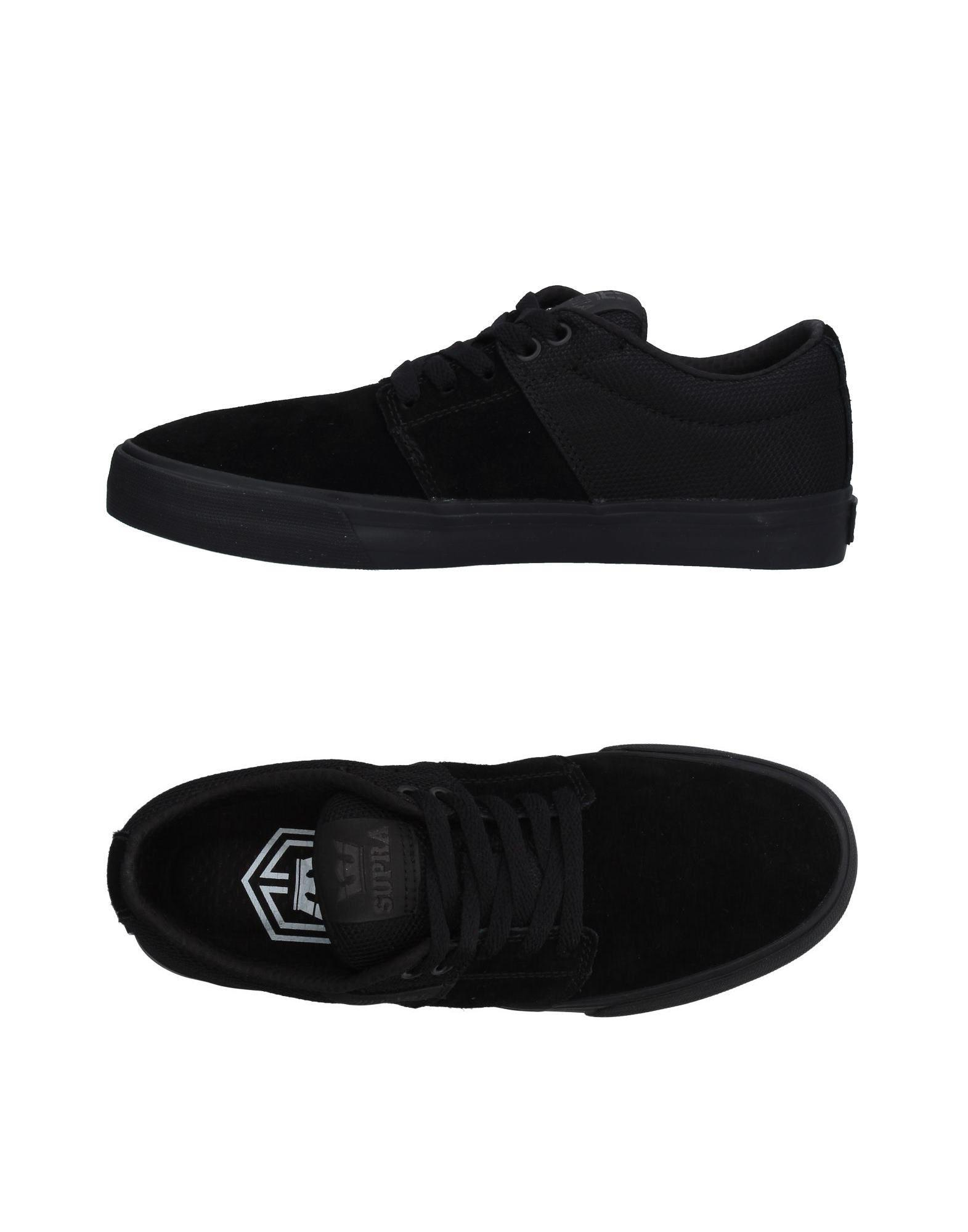 6fdc6773ed Lyst - Supra Low-tops & Sneakers in Black for Men