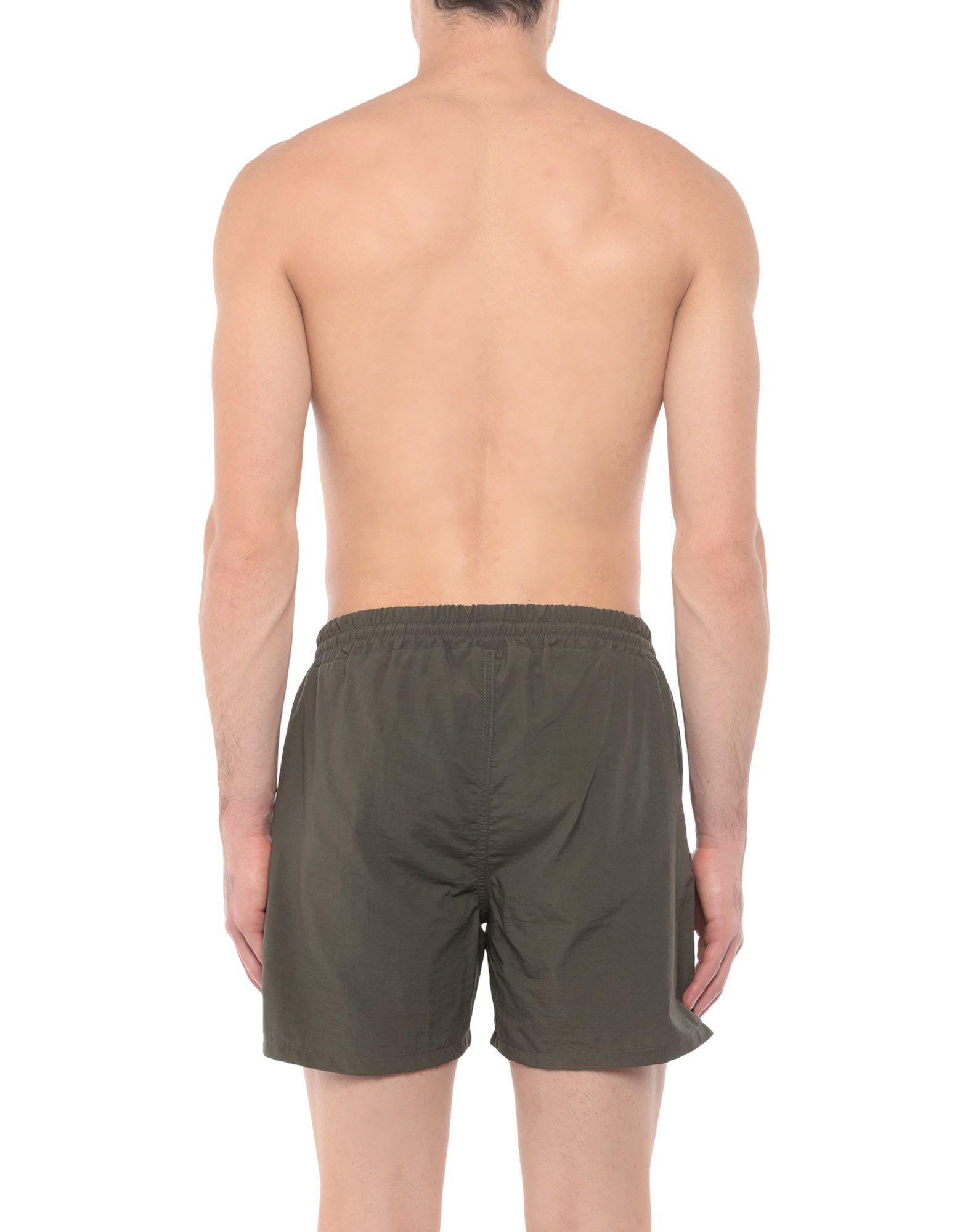 7461ad3d39 Lyst - Mcq Alexander Mcqueen Swimming Trunks in Green for Men
