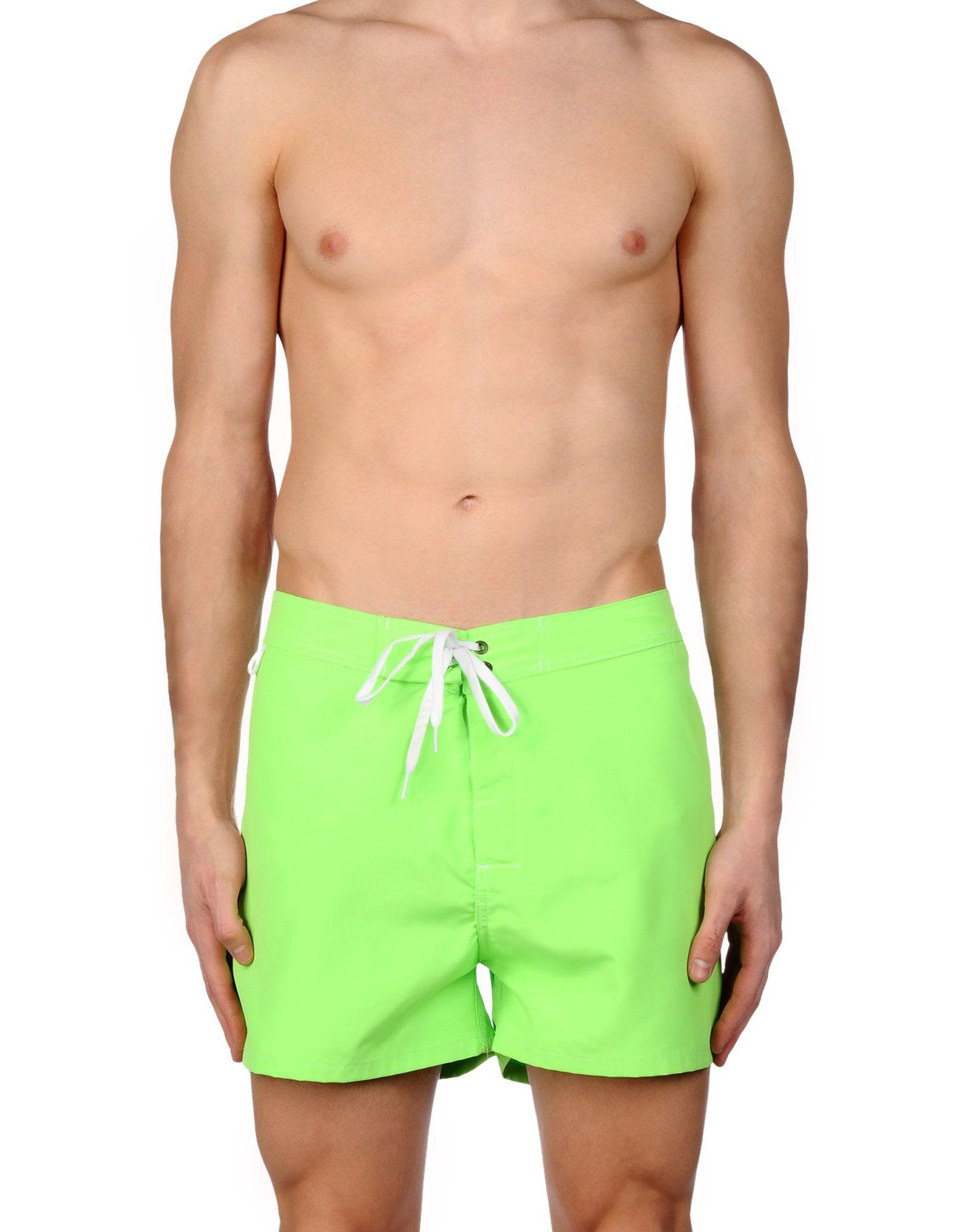 4b085ca840065 Lyst - Sundek Swimming Trunks in Green for Men