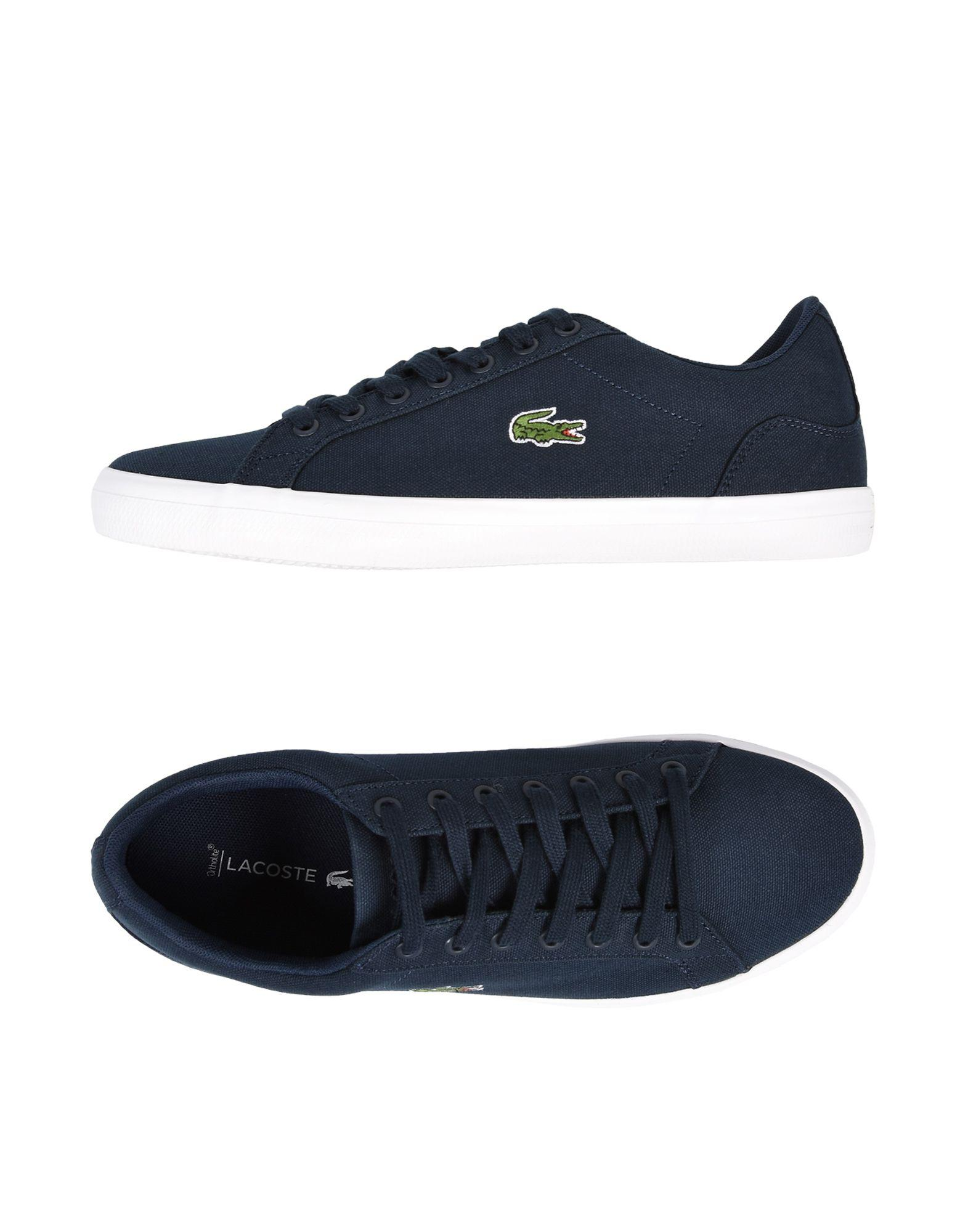 5ab8746aa Lacoste - Blue Low-tops   Sneakers for Men - Lyst. View fullscreen