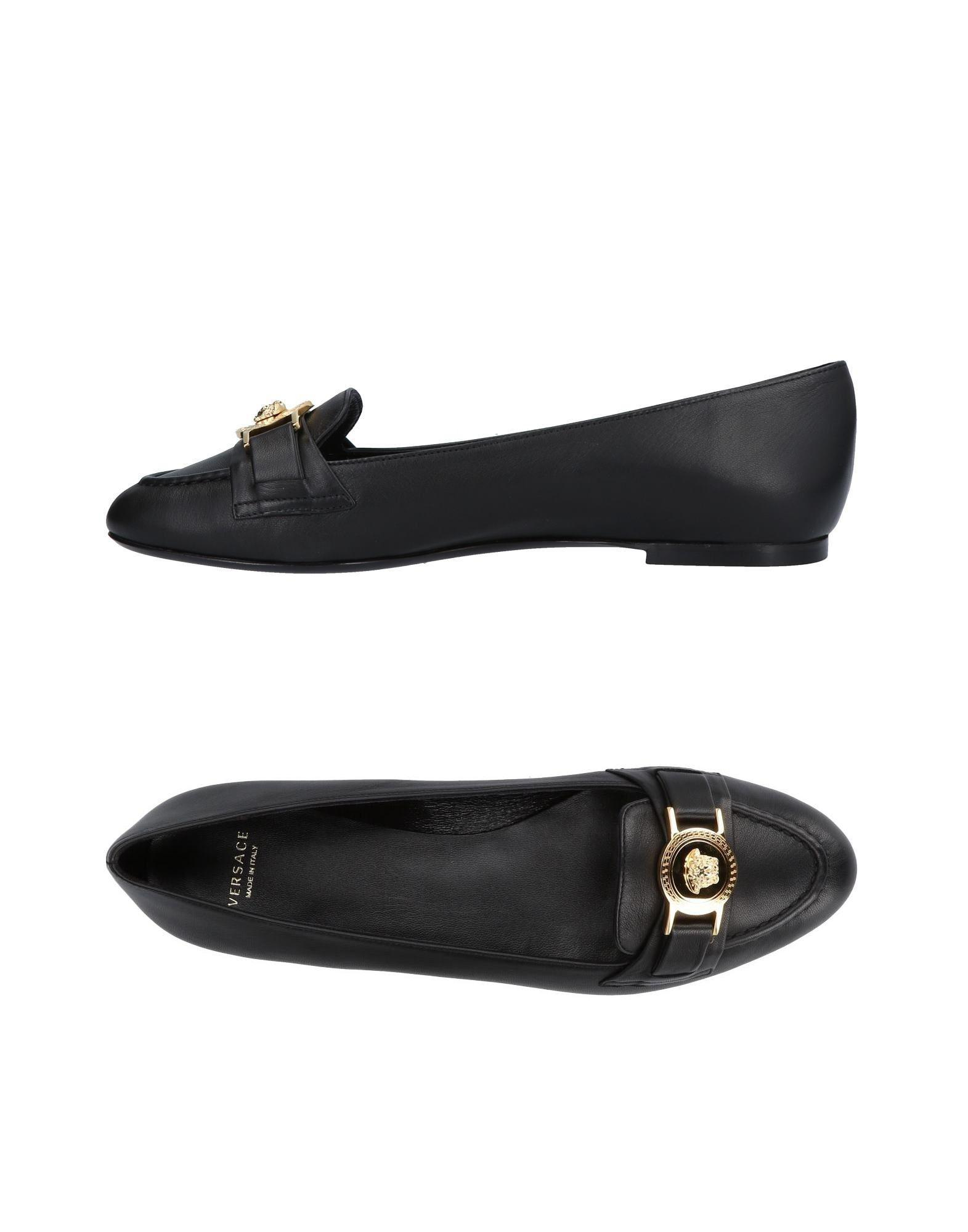 a5afc9e3 Lyst - Versace Loafer in Black