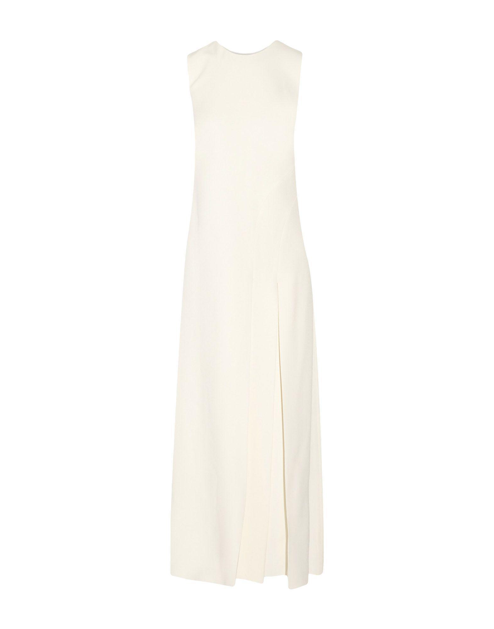 Wes Gordon Women S White Long Dress