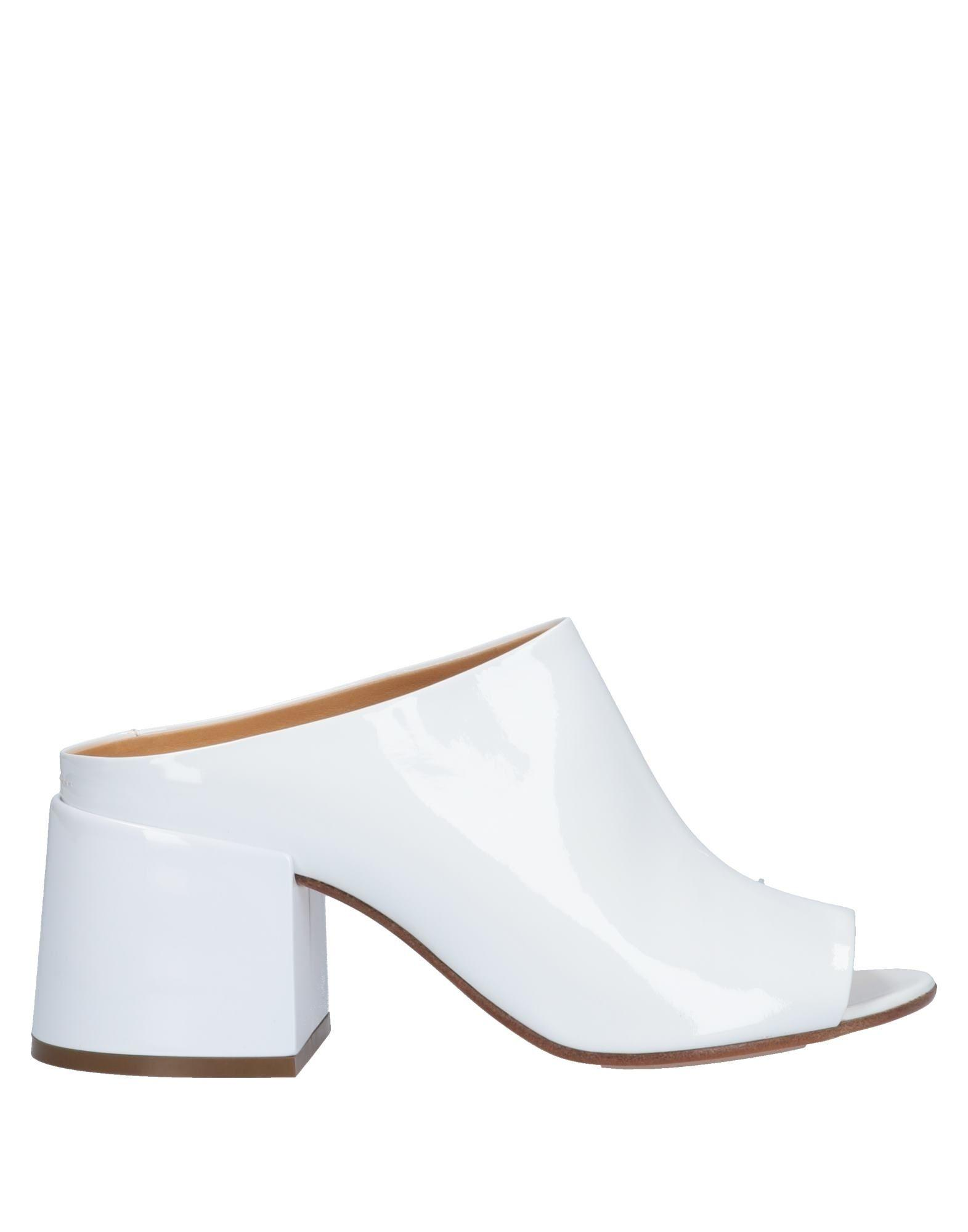 a8abc01581c5 Lyst - MM6 by Maison Martin Margiela Sandals in White
