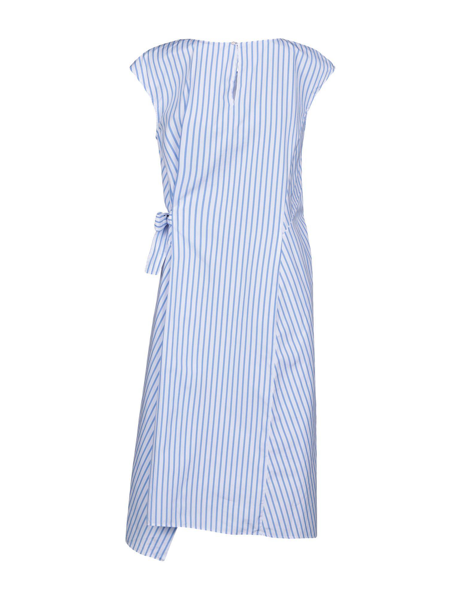 Blue Lyst Length Sarte In Le Pettegole Dress Knee nwtqY8qC0f