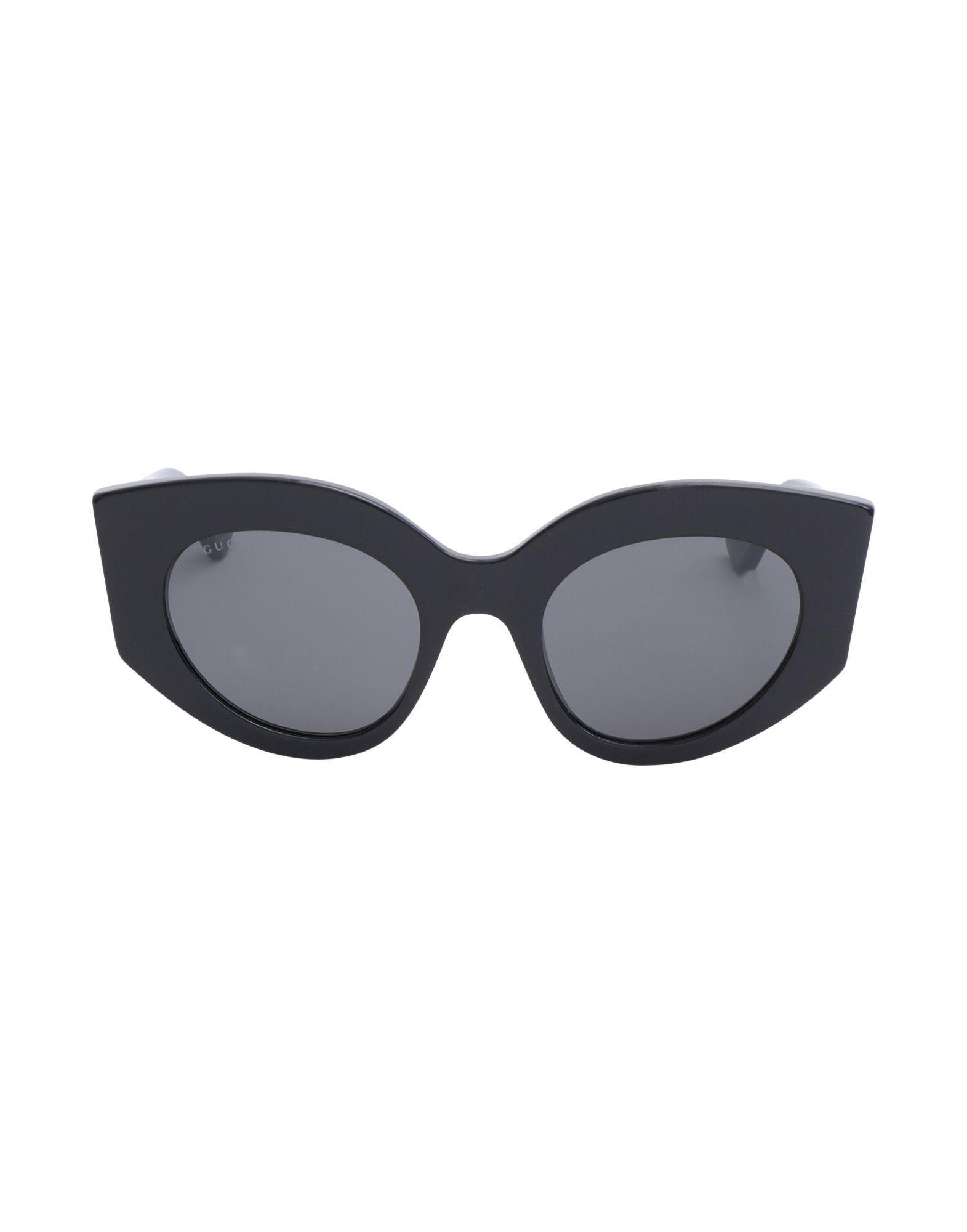 b64d95cfca8 Gucci Sunglasses in Black - Lyst