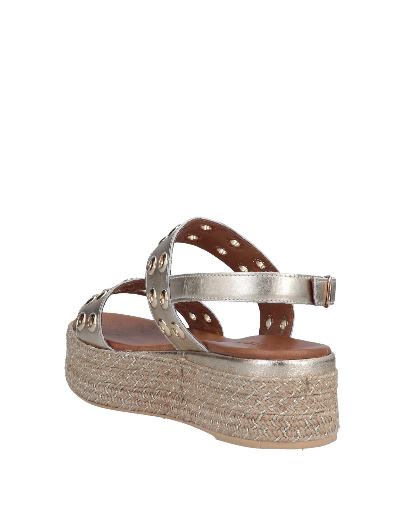 7dee45cc9b5d Lyst - Inuovo Sandals in Metallic