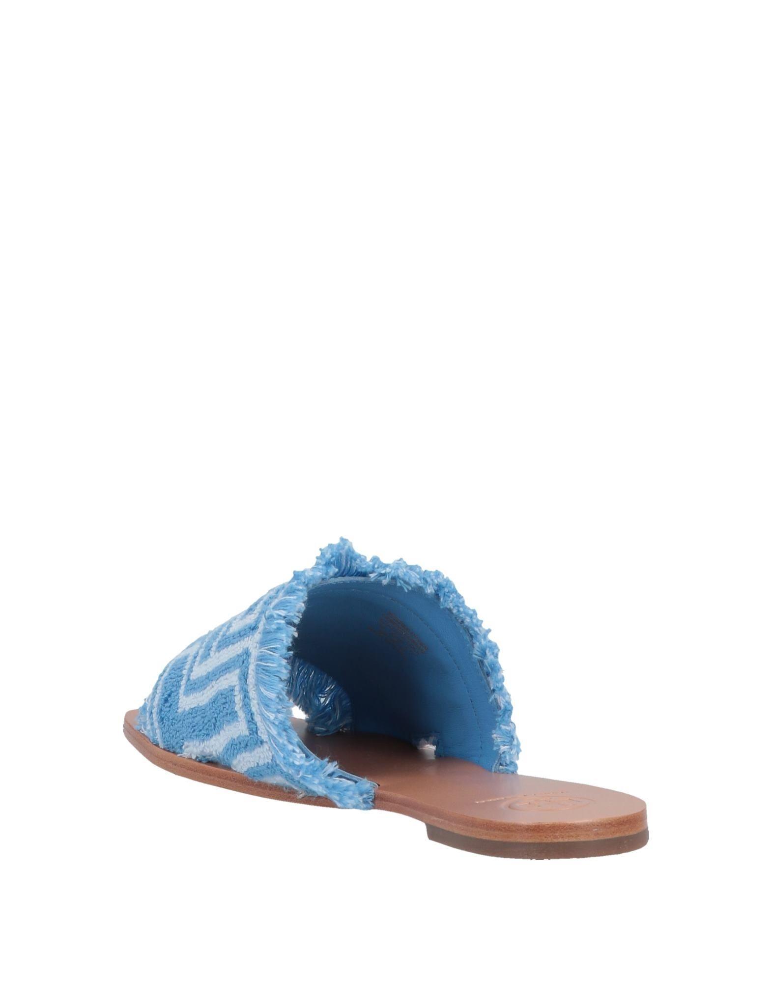 ecdeeeaaf8753e Tory Burch Sandals in Blue - Lyst