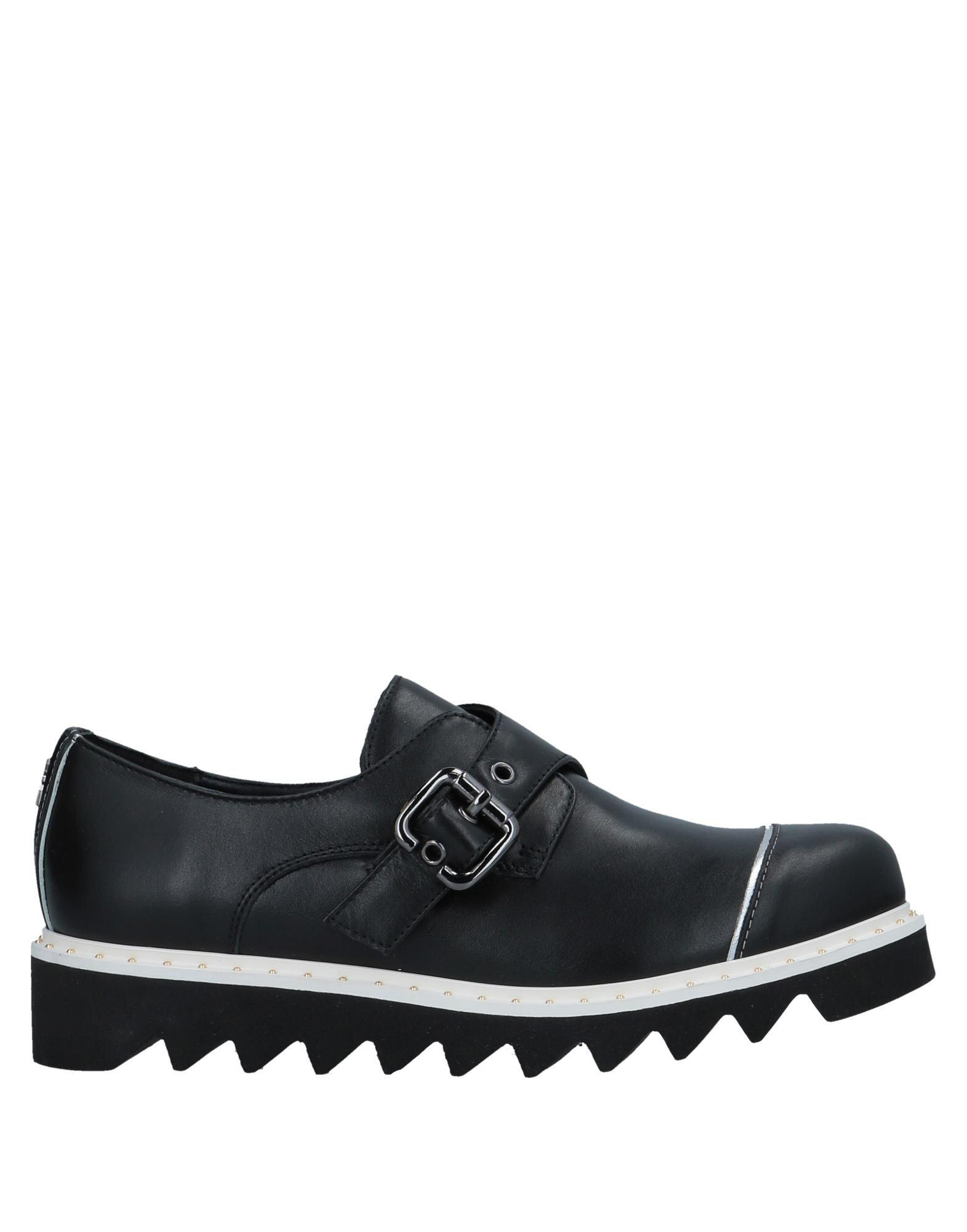 Lyst - Patrizia Pepe Loafer in Black 53fce519d04