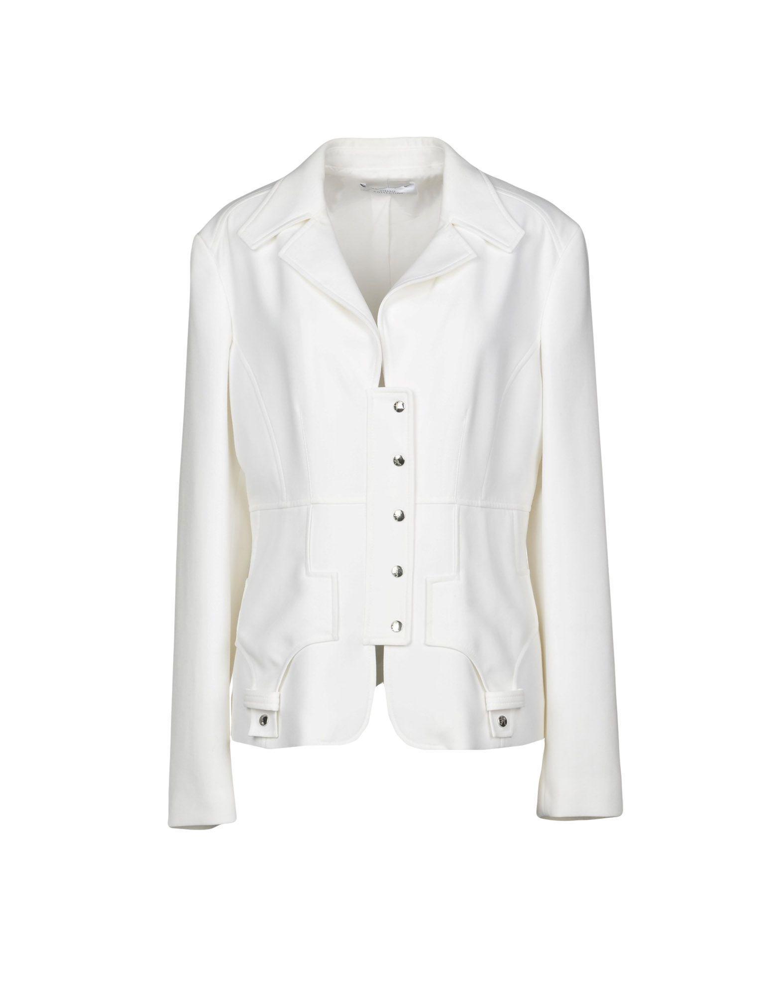 Lyst - Veste Versace en coloris Blanc 2fe99703fe0