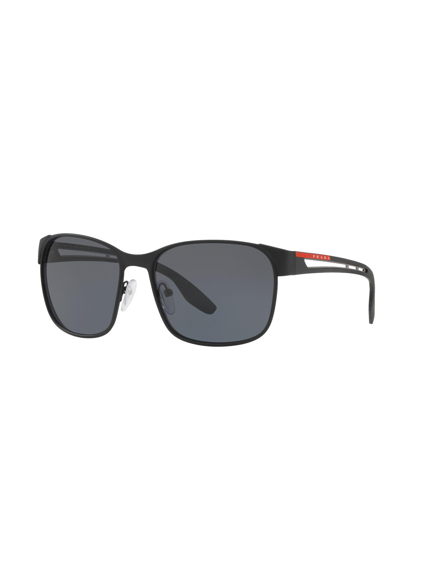 2bcefc0fae48 Prada - Black Sunglasses for Men - Lyst. View fullscreen