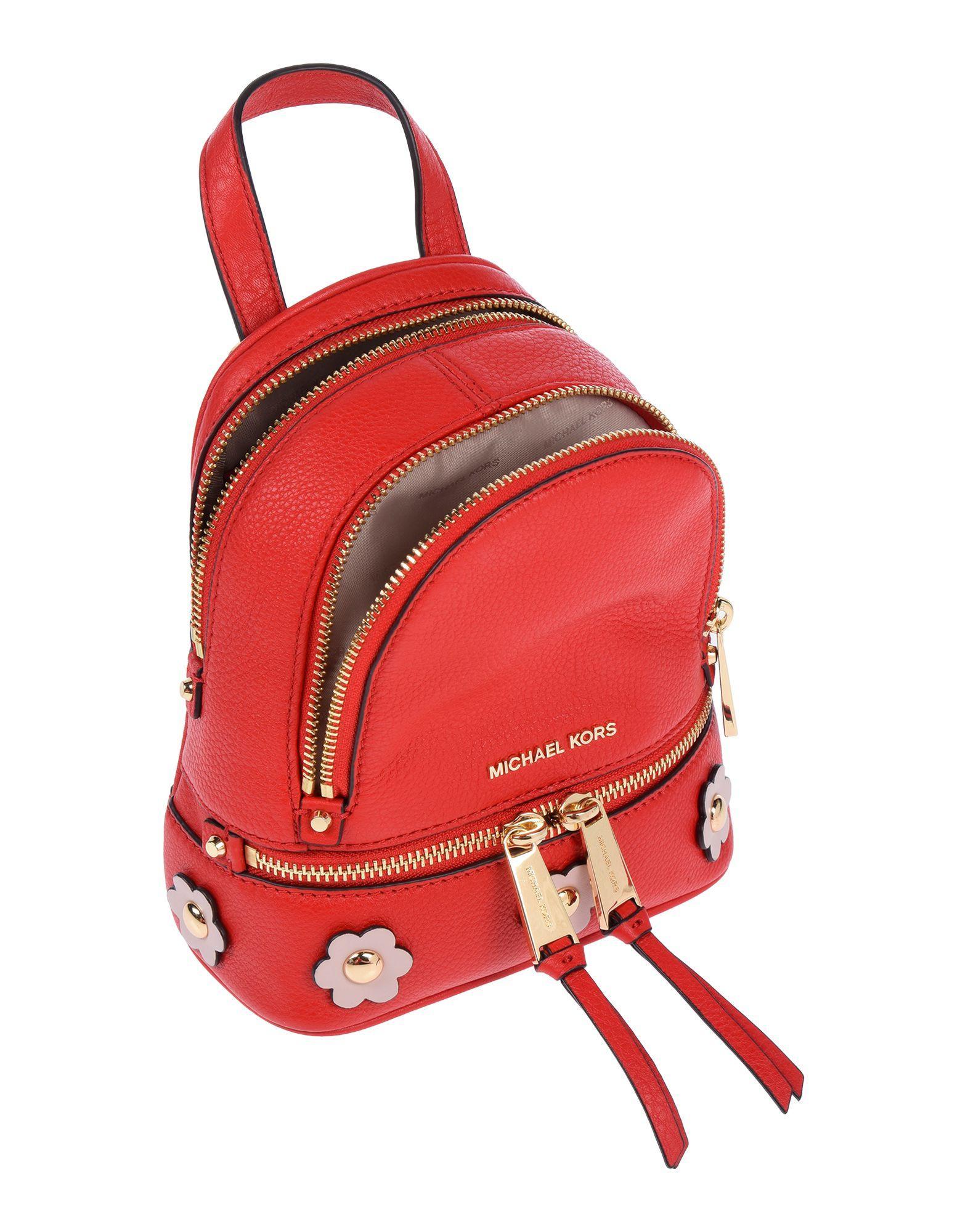 74326711ff06 Michael Kors Backpacks & Bum Bags in Red - Lyst