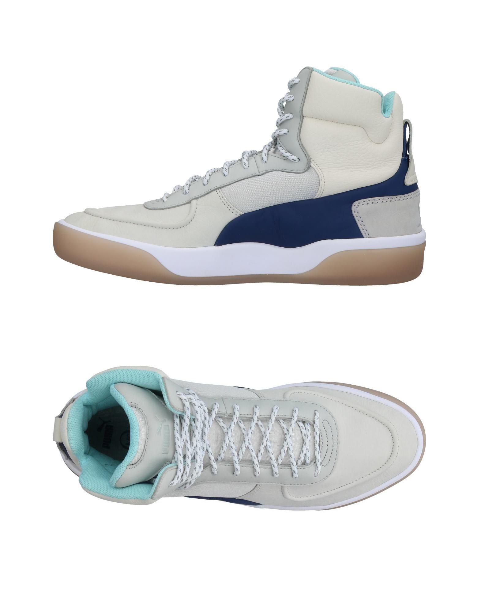 Lyst - Alexander Mcqueen X Puma High-tops   Sneakers in Gray b84b790bd