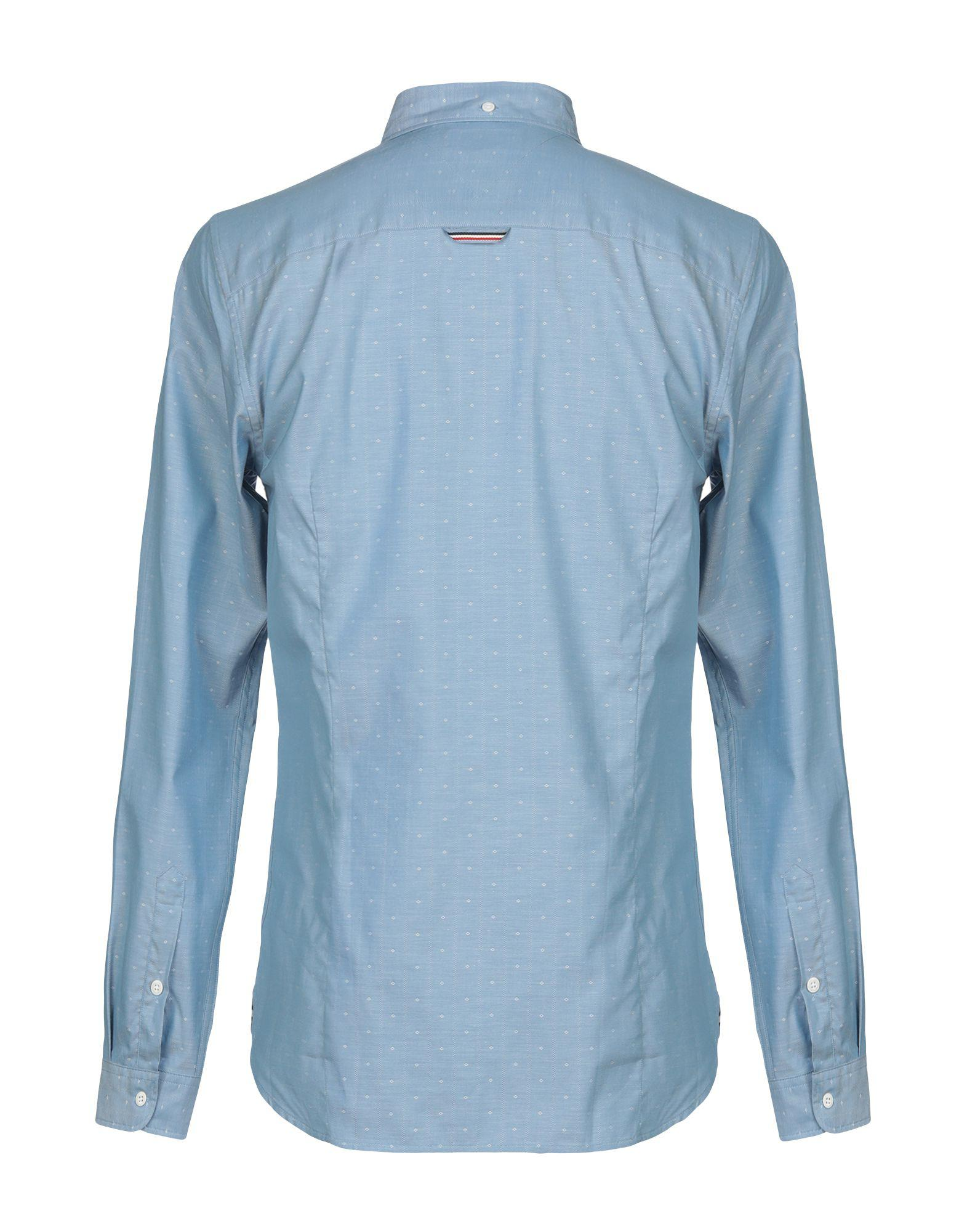 c07c590319466d Lyst - Tommy Hilfiger Shirt in Blue for Men