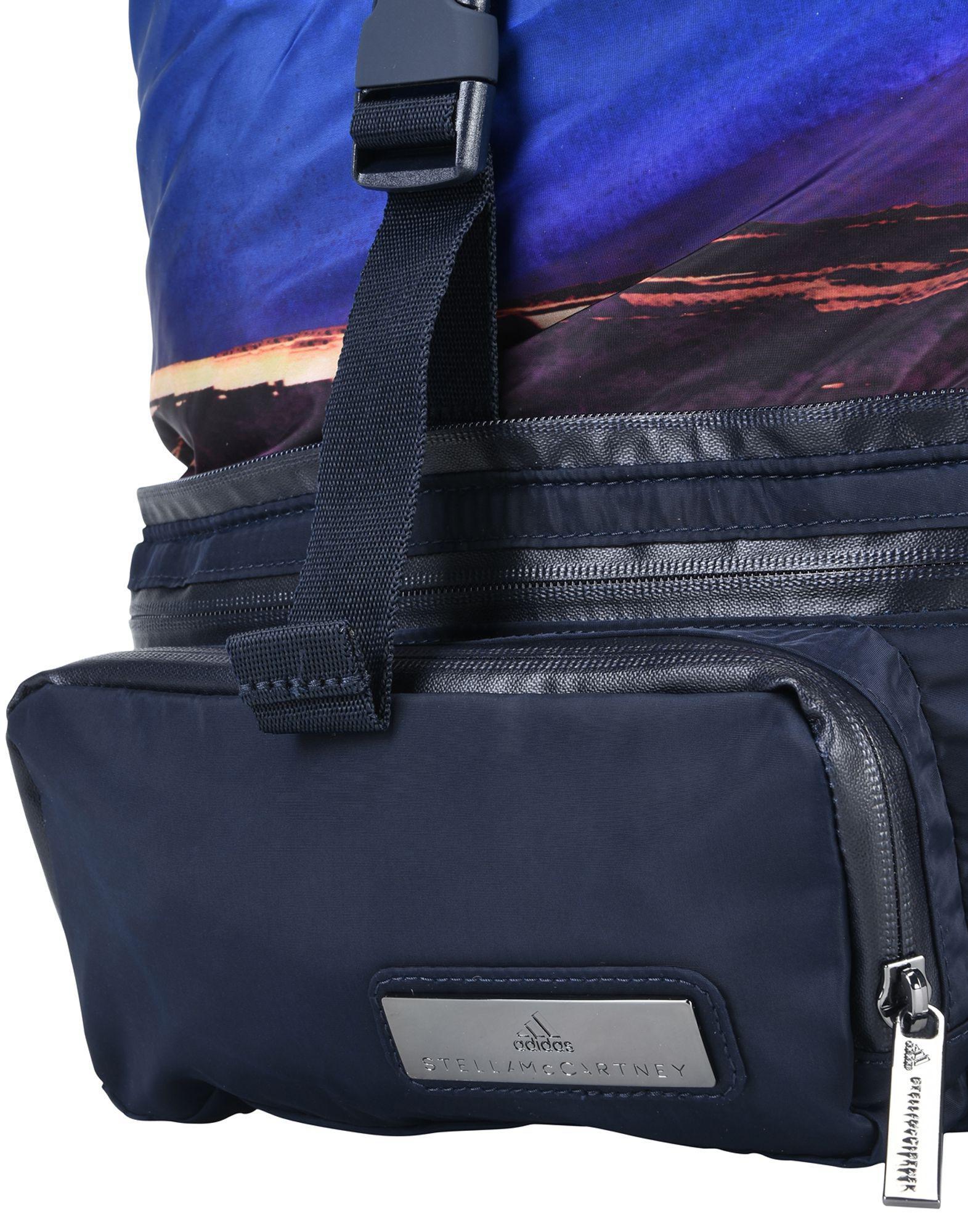 145ae9a04 adidas By Stella McCartney Backpacks & Fanny Packs in Blue - Lyst