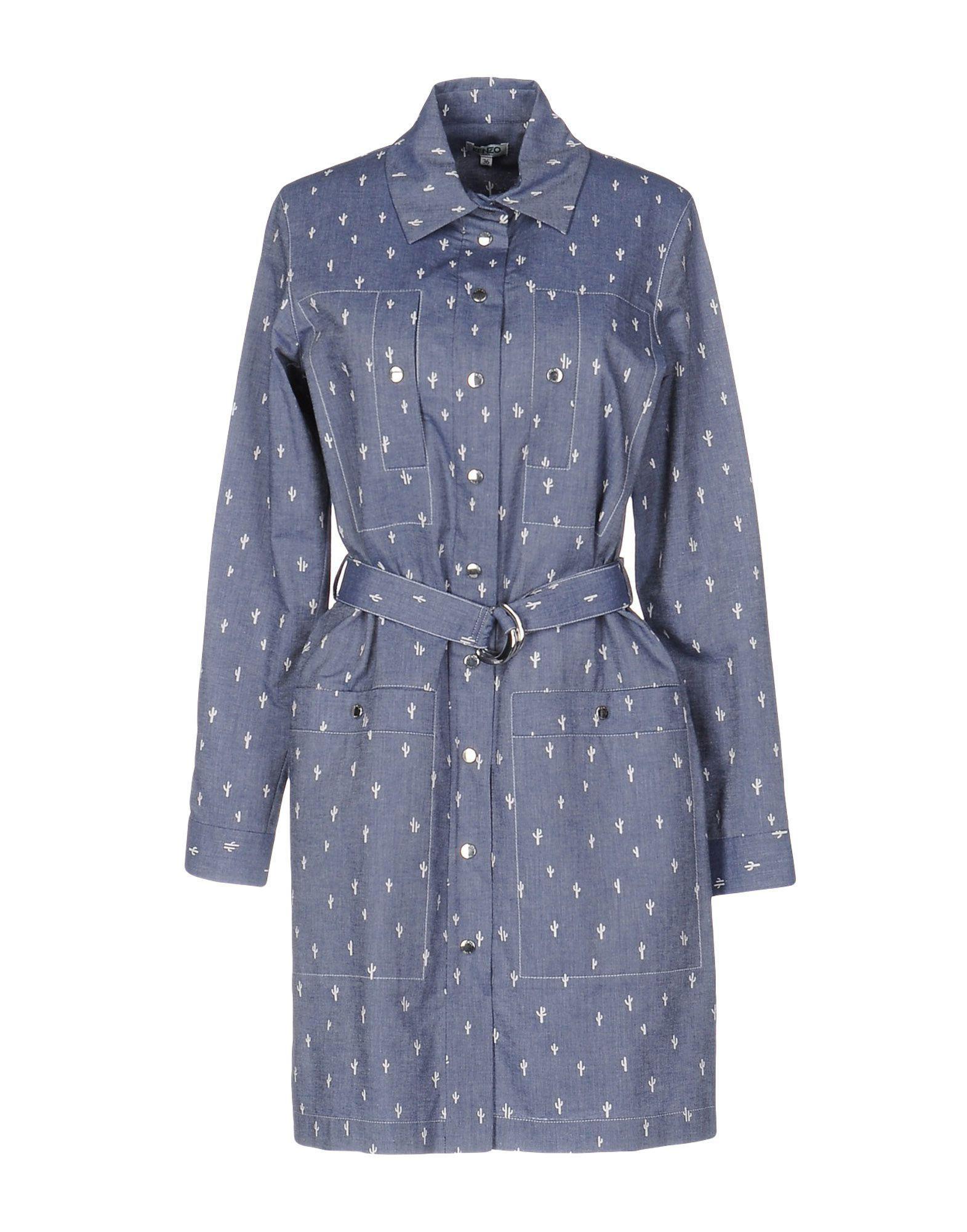 2ba31501ecf Lyst - Robe courte Kenzo en coloris Bleu