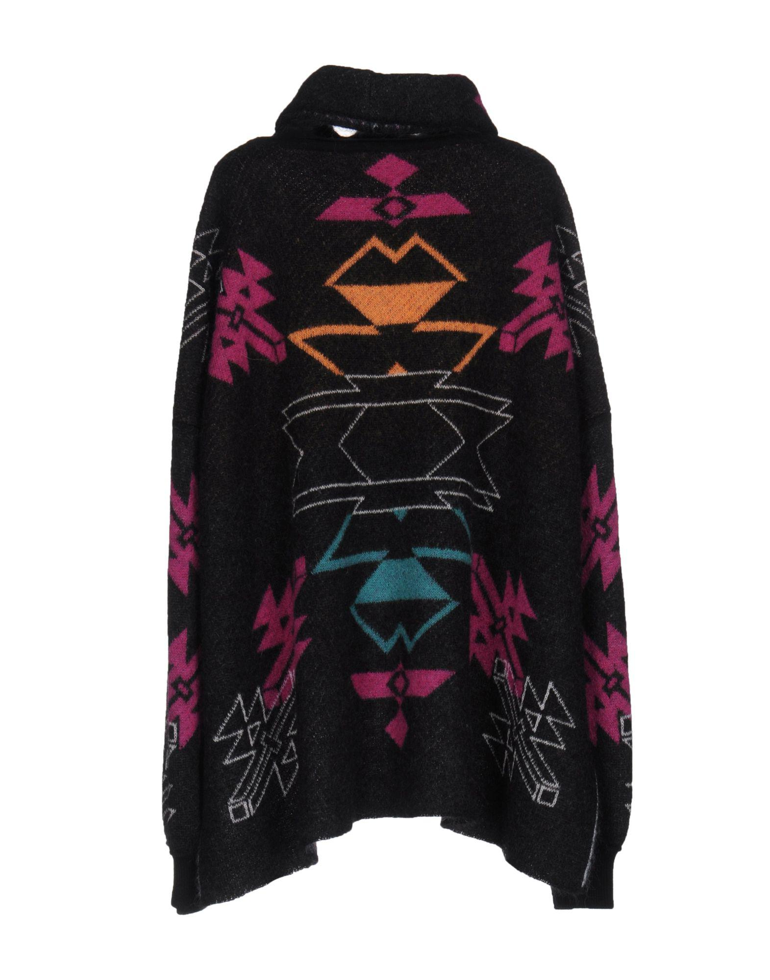 In Marcelo Burlon Lyst Sweaters Black 1xgE8w