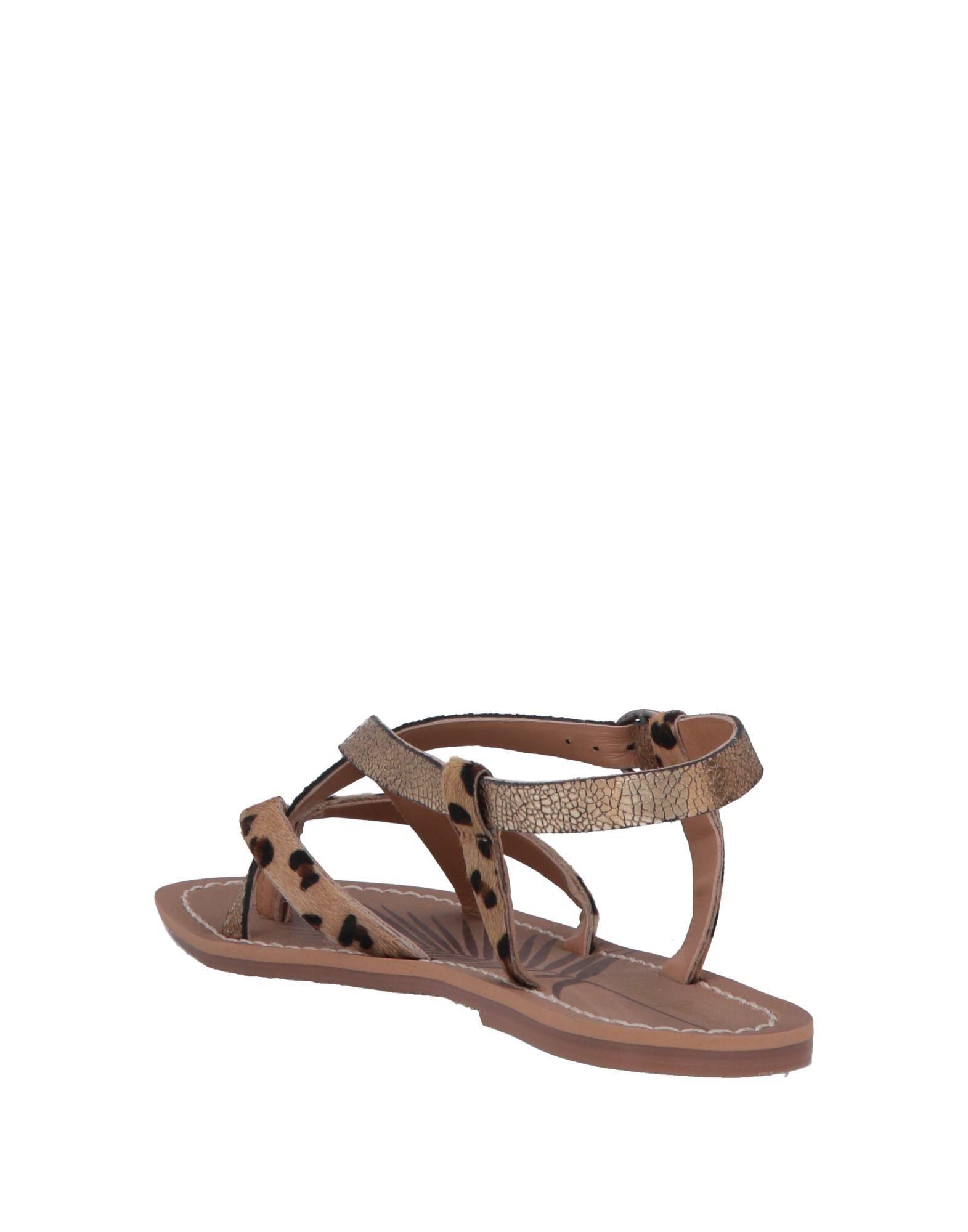 2830a0caea924e Pepe Jeans Toe Post Sandal in Metallic - Lyst