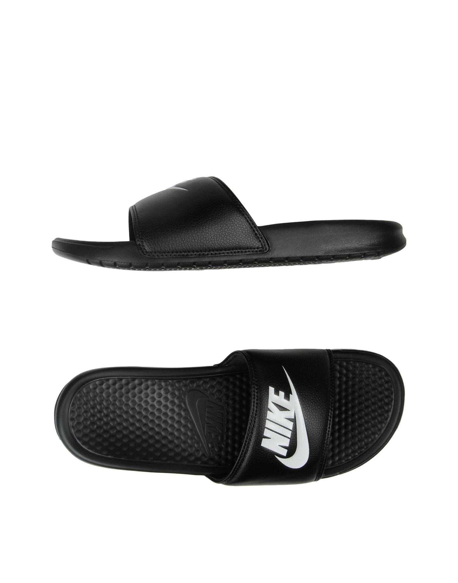 3a870fdfc Nike Sandals in Black for Men - Save 23% - Lyst