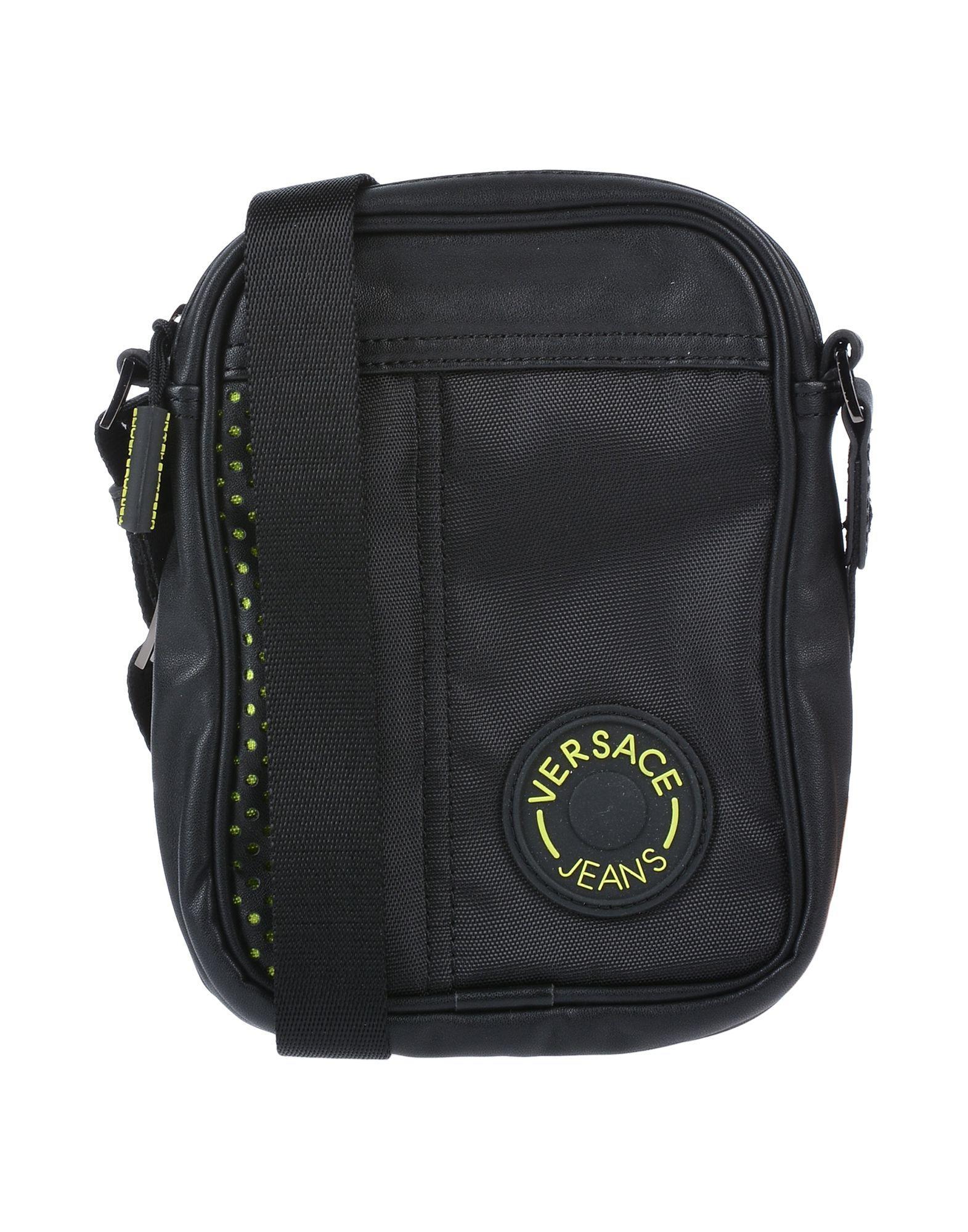 Versace Jeans Cross-body Bag in Black for Men - Lyst 6a63aa7e38078