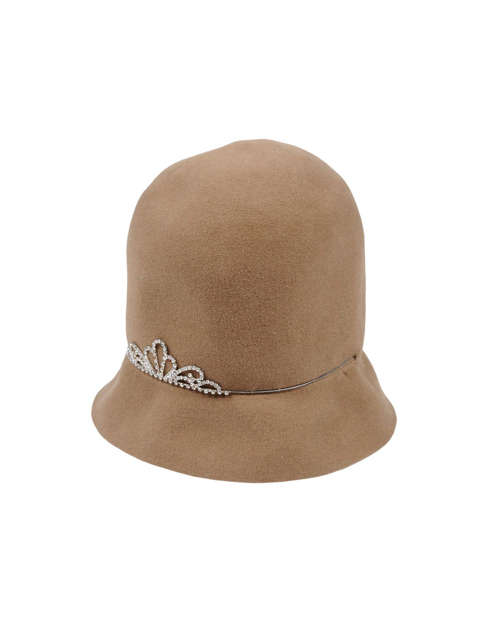 Lyst - Patrizia Fabri Hat in Natural 9e3b6f97c4ab