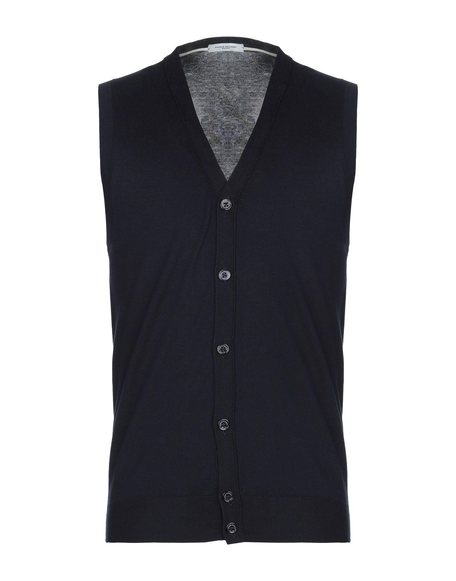 c18af60bb2a71 Paolo Pecora Cardigan in Blue for Men - Save 13.043478260869563% - Lyst