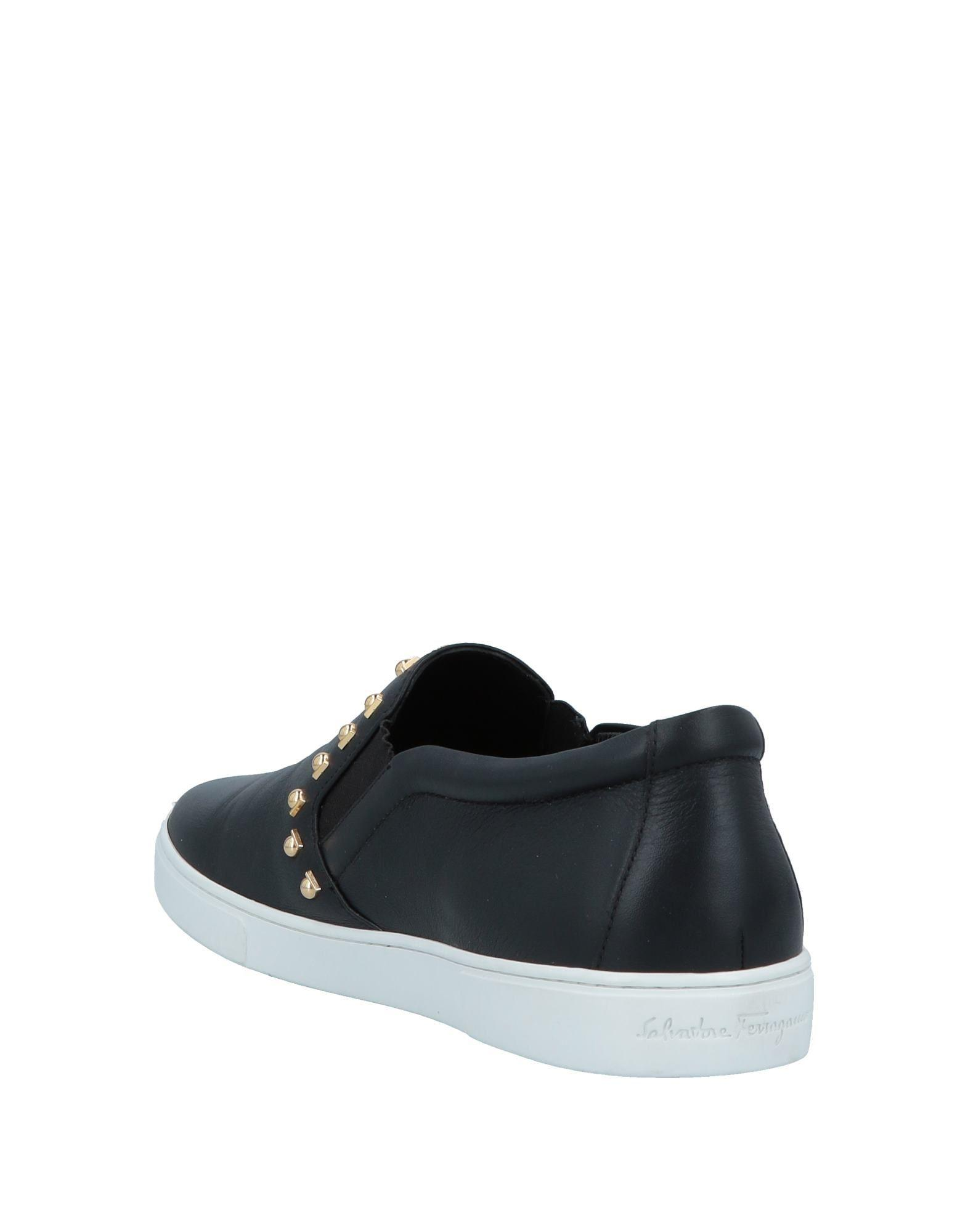 e9203a6127 Lyst - Ferragamo Low-tops   Sneakers in Black