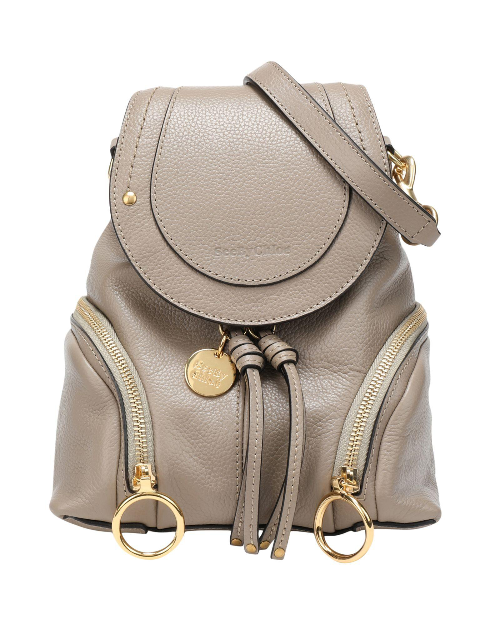 See By Chloé - Gray Backpacks   Fanny Packs - Lyst. View fullscreen ab6ccd8f8018d