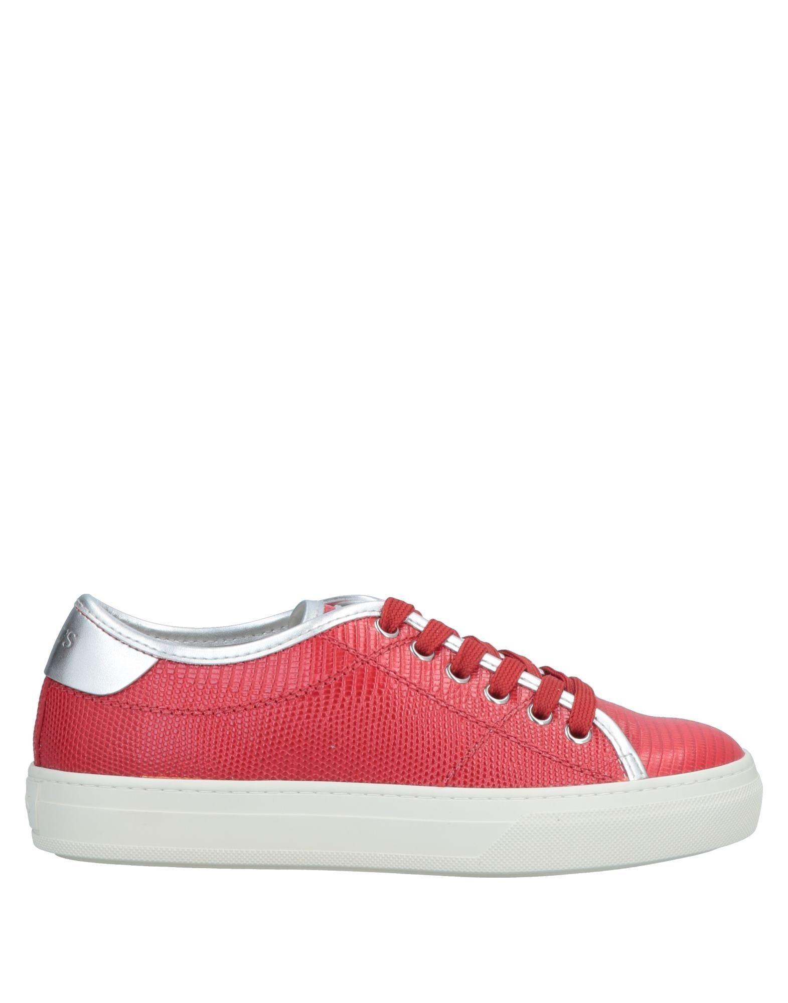 brand new 820ef e6d18 tods-Red-Low-tops-Sneakers.jpeg