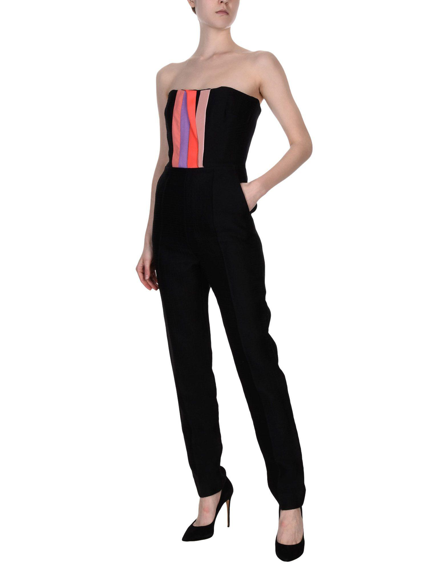 4b0d62cb41f Roksanda Jumpsuit in Black - Lyst