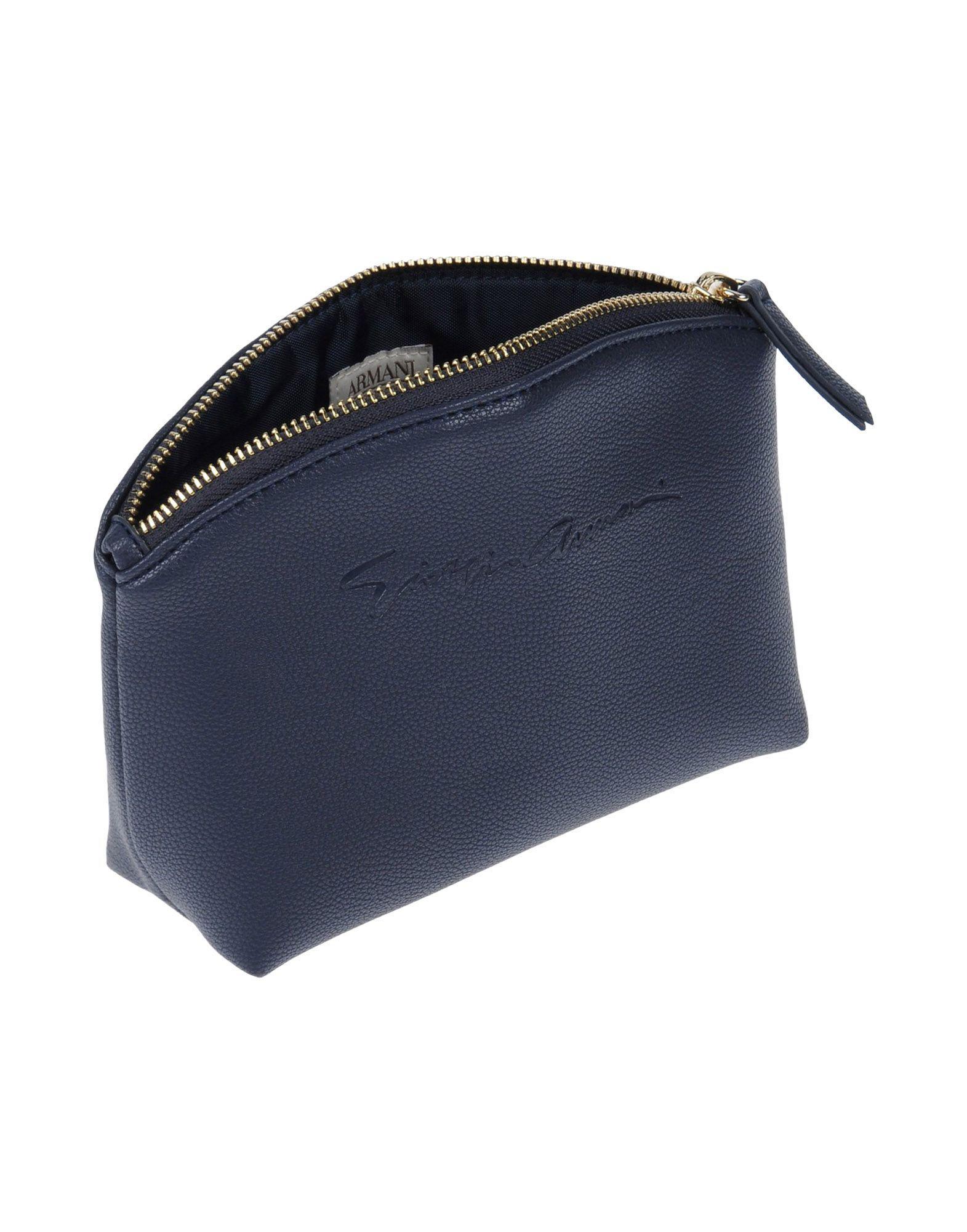 Lyst - Giorgio Armani Cross-body Bag in Blue 02bd2db4b4