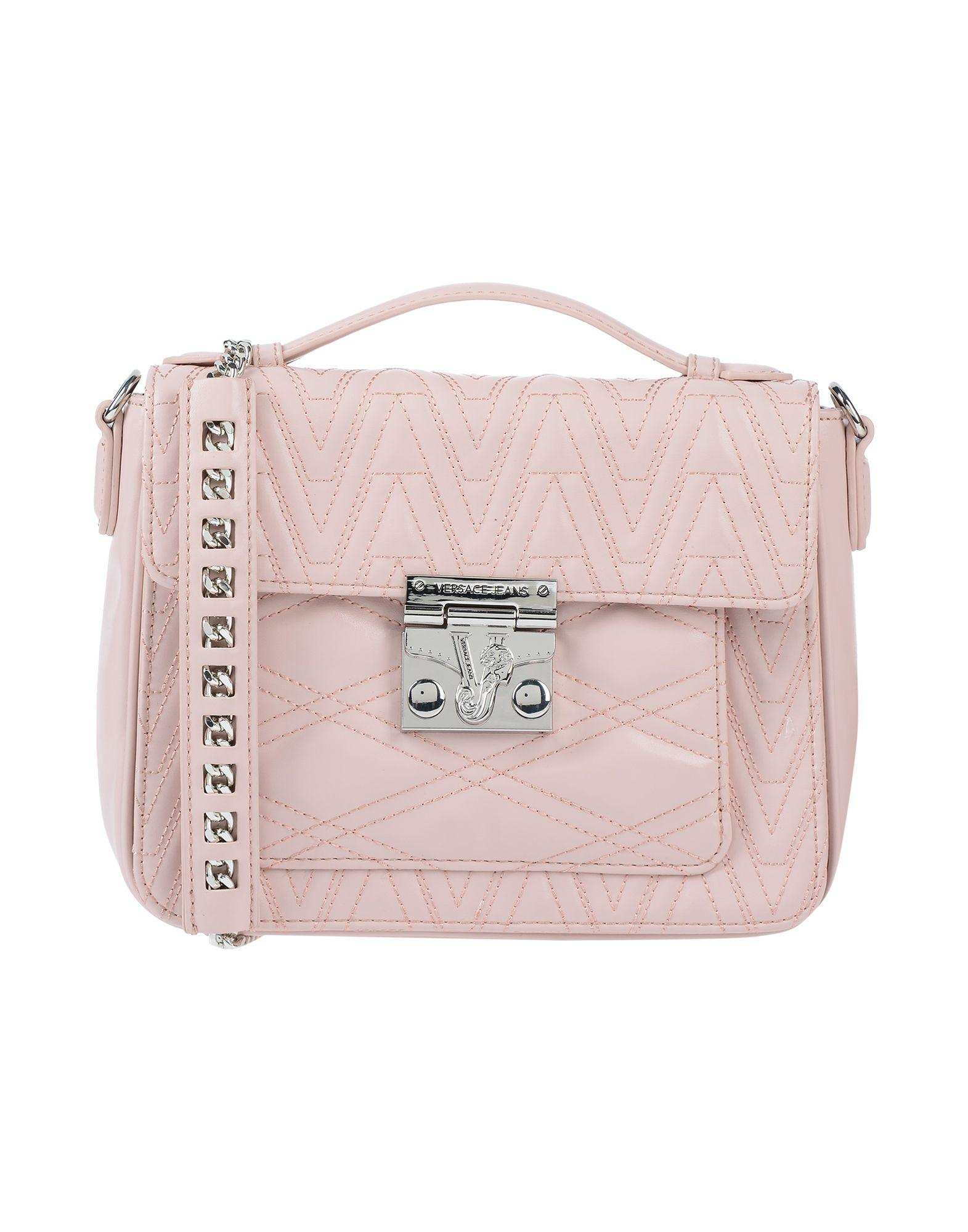 Versace Jeans Handbag in Pink - Lyst 7a6975bbec