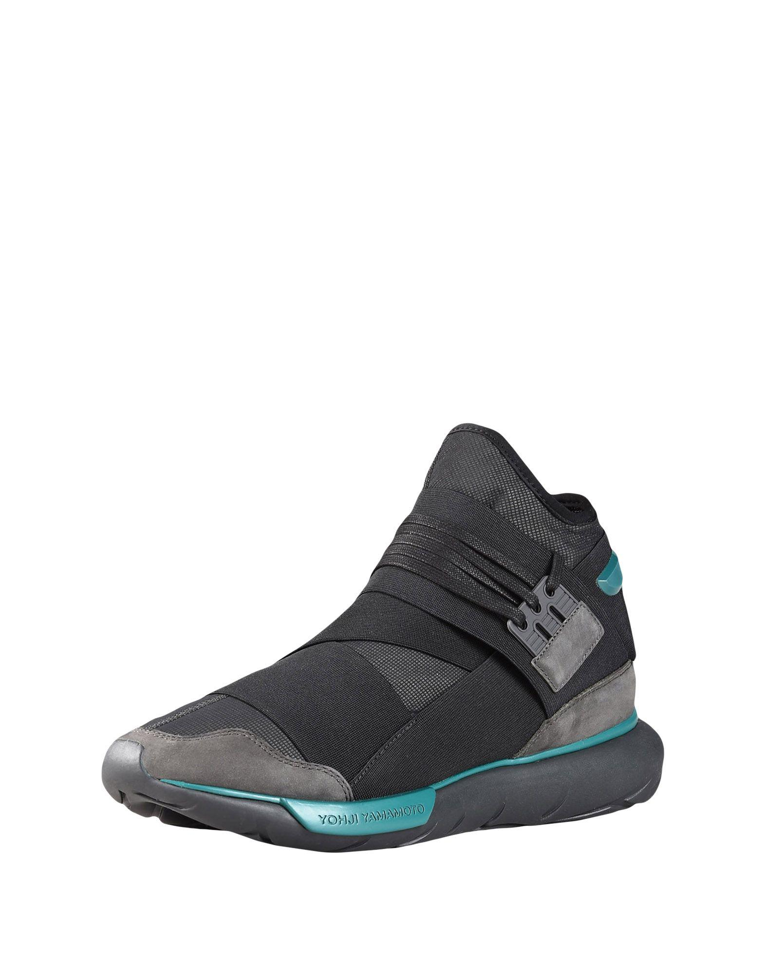 0e39087deb068 Lyst - Y-3 Qasa Neoprene High-top Sneakers in Black for Men - Save 61%