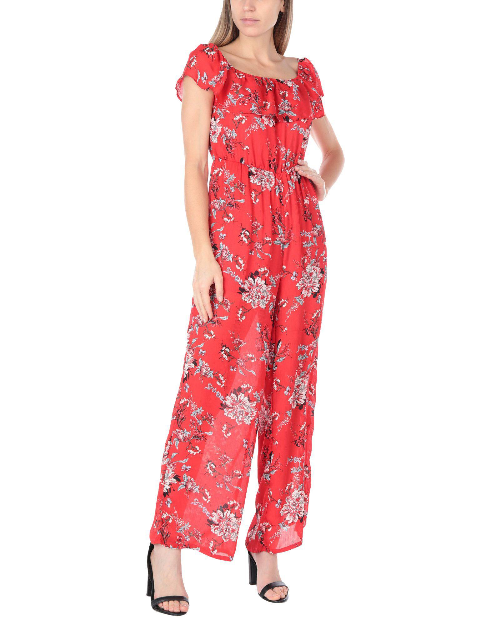 af1d4a9cd39 Glamorous - Red Jumpsuit - Lyst. View fullscreen