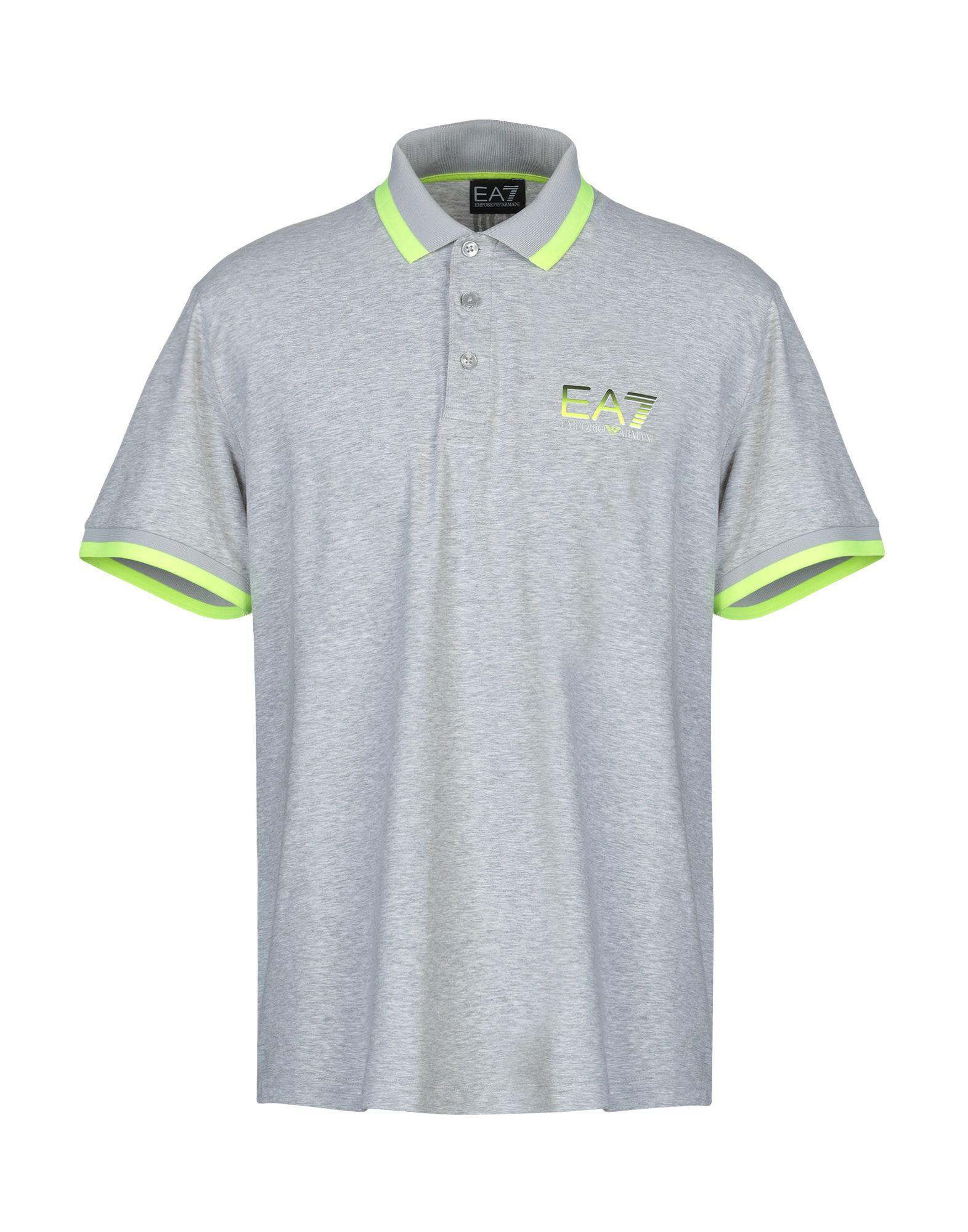 4992b591cb8 Lyst - Ea7 Polo Shirt in Gray for Men