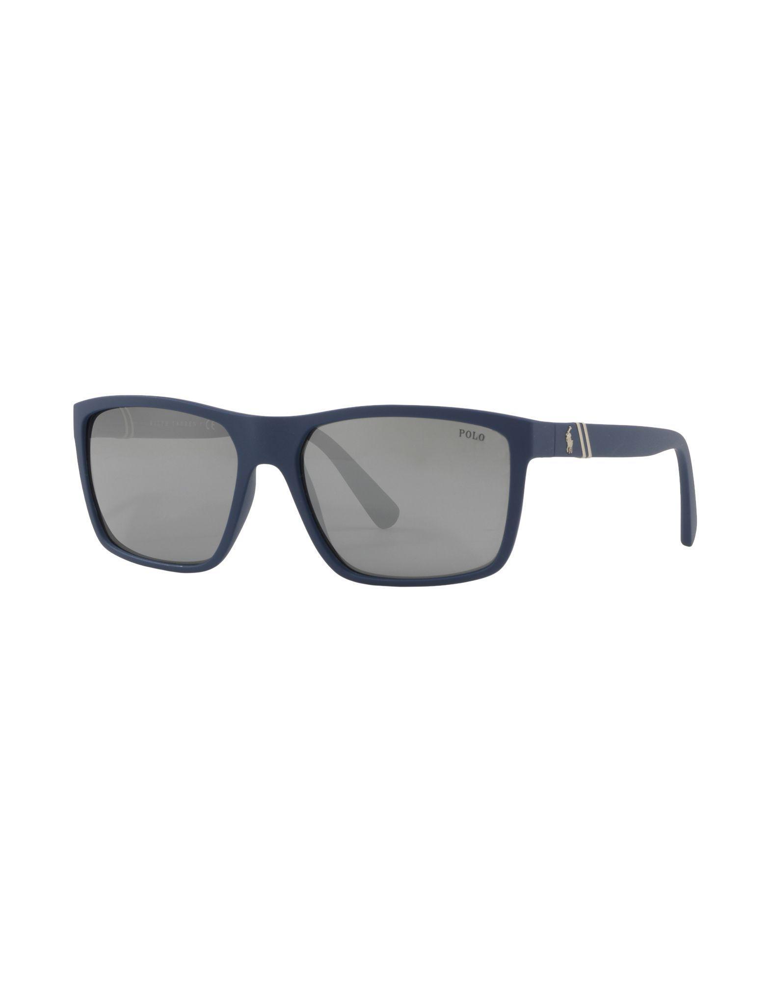 77d20b18e45 Polo Ralph Lauren Sunglasses in Blue for Men - Lyst