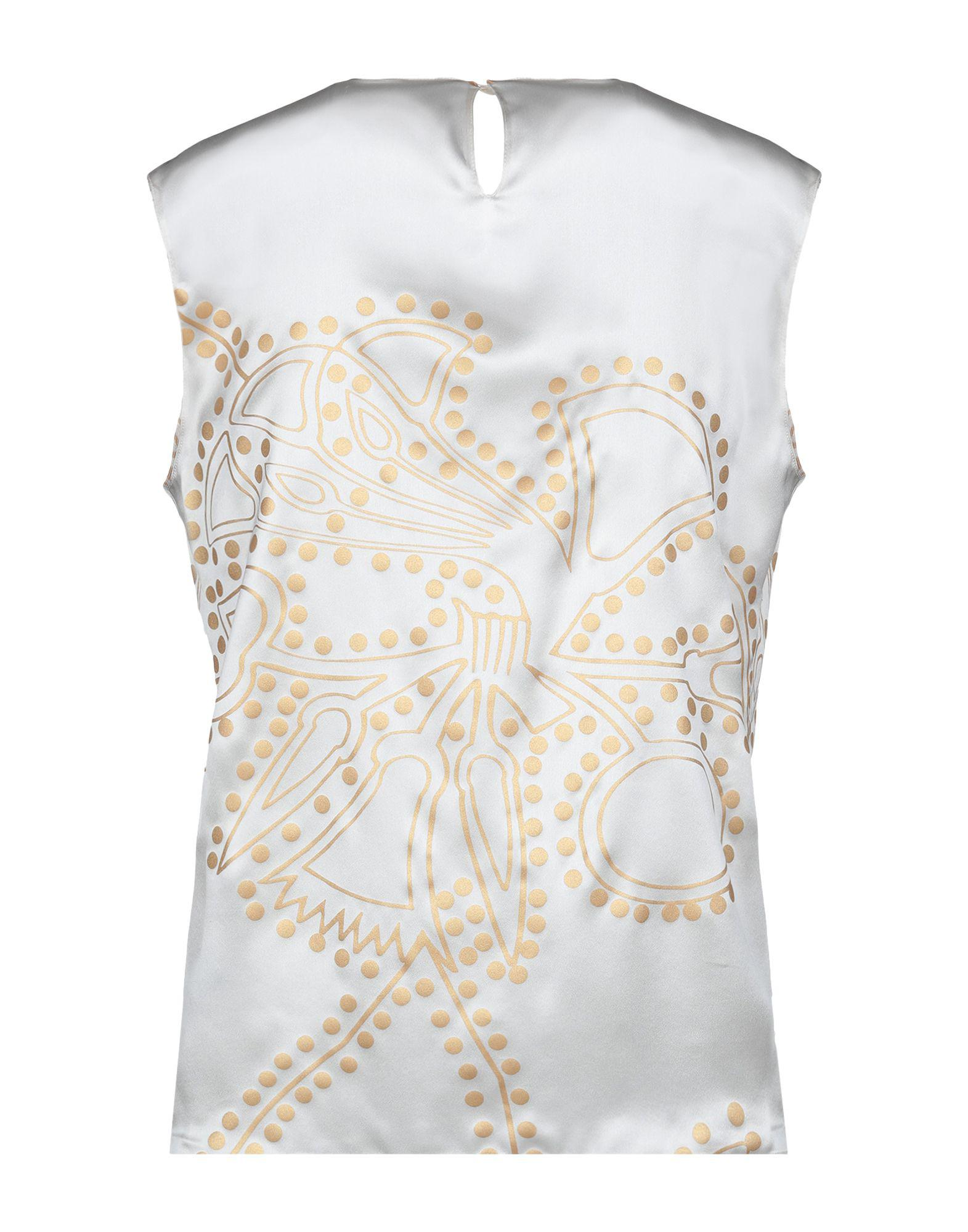 the latest f624d 56506 Agnona Top in White - Lyst