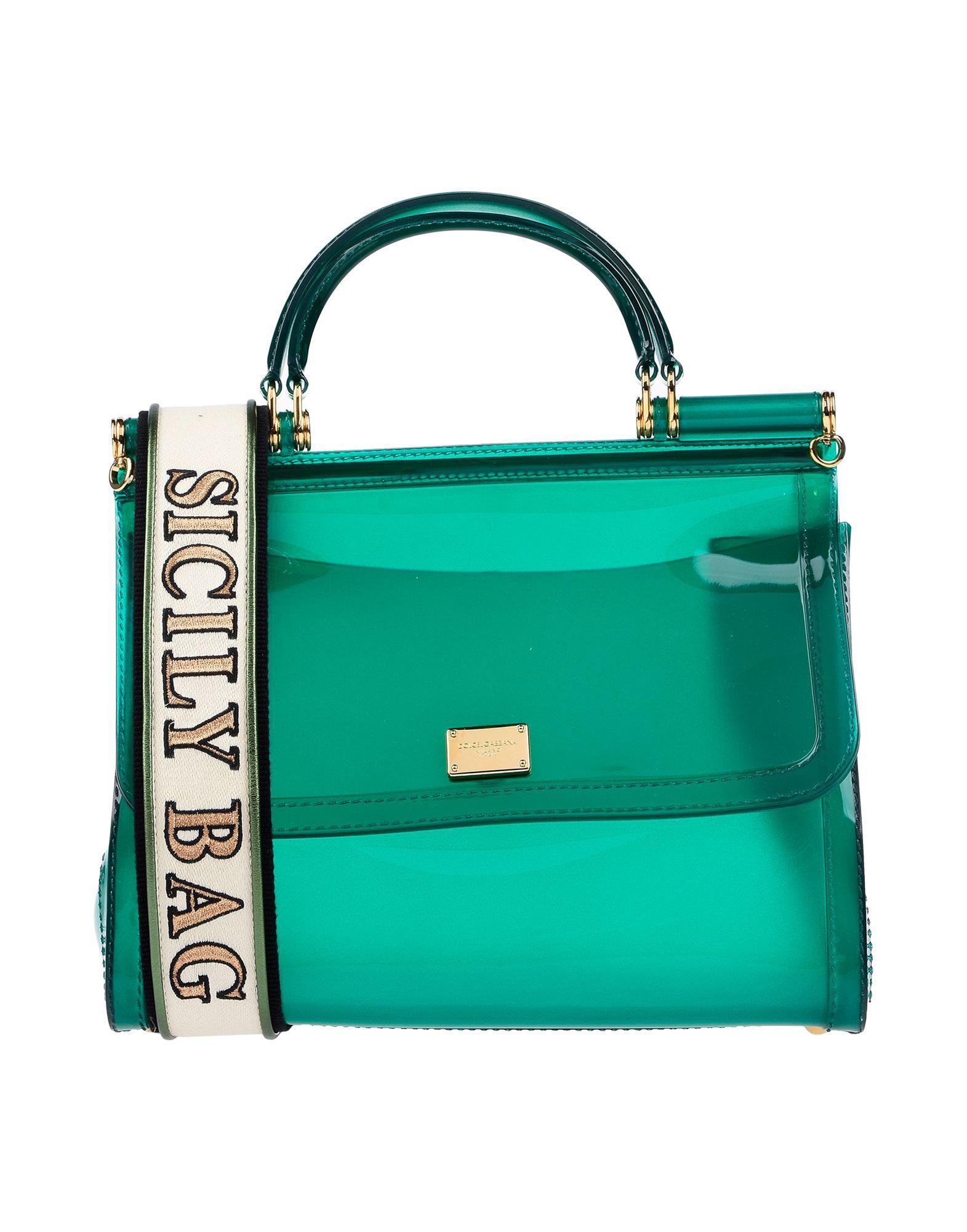 ecb483570d Lyst - Dolce   Gabbana Handbag in Green - Save 30%