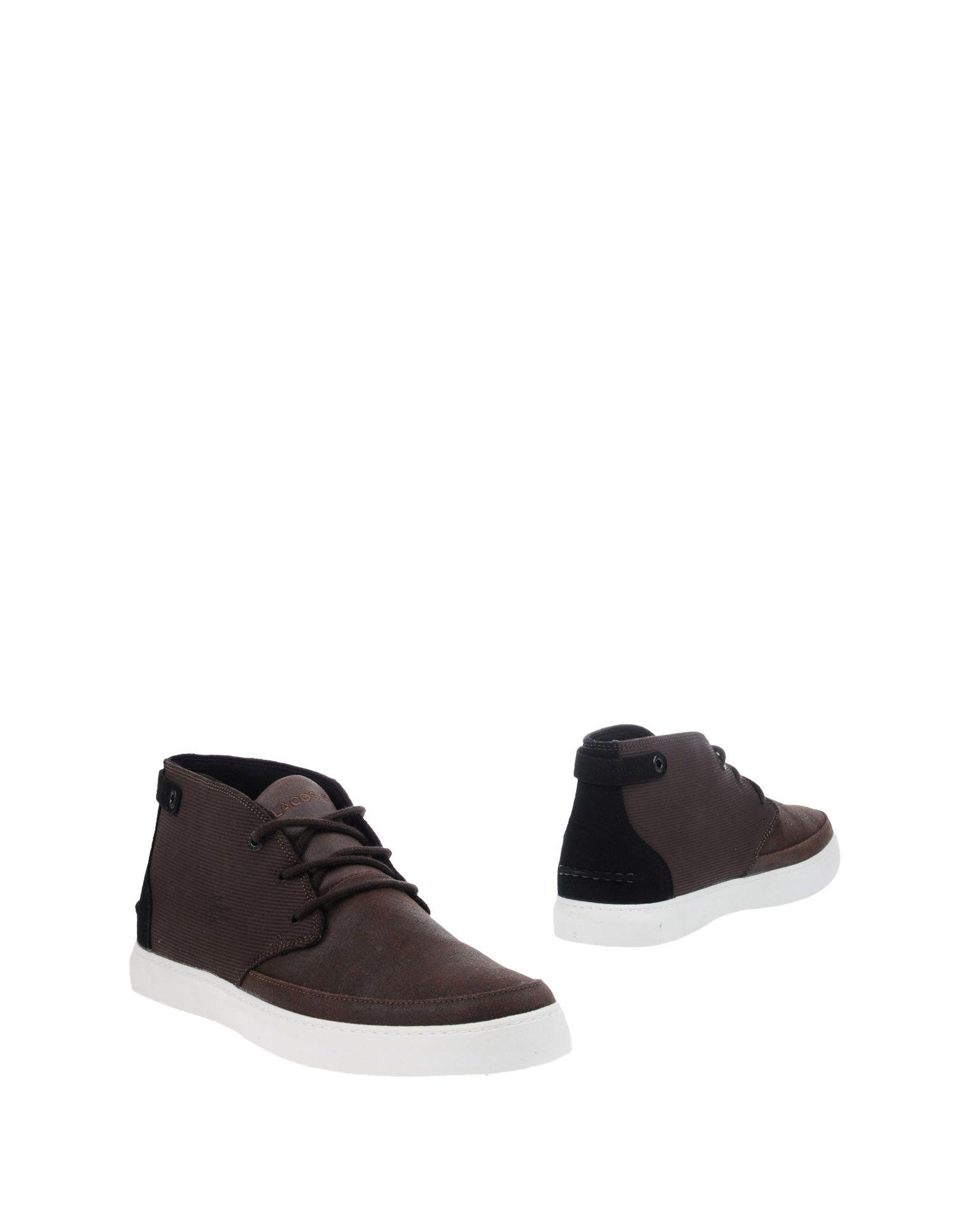 b8211139f4fdb6 Lyst - Lacoste Ankle Boots in Brown for Men