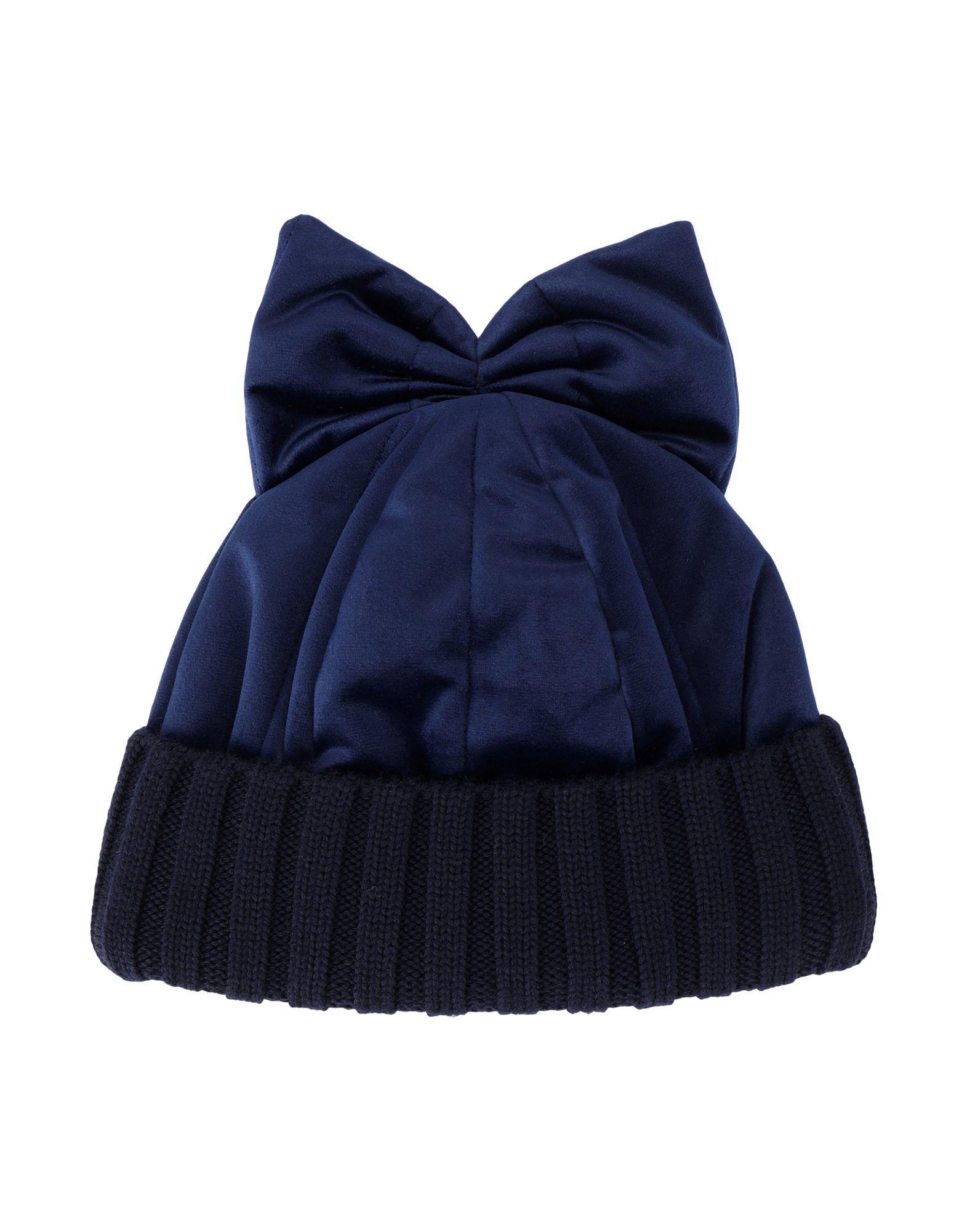 16f8c307c8d Lyst - Federica Moretti Hat in Blue