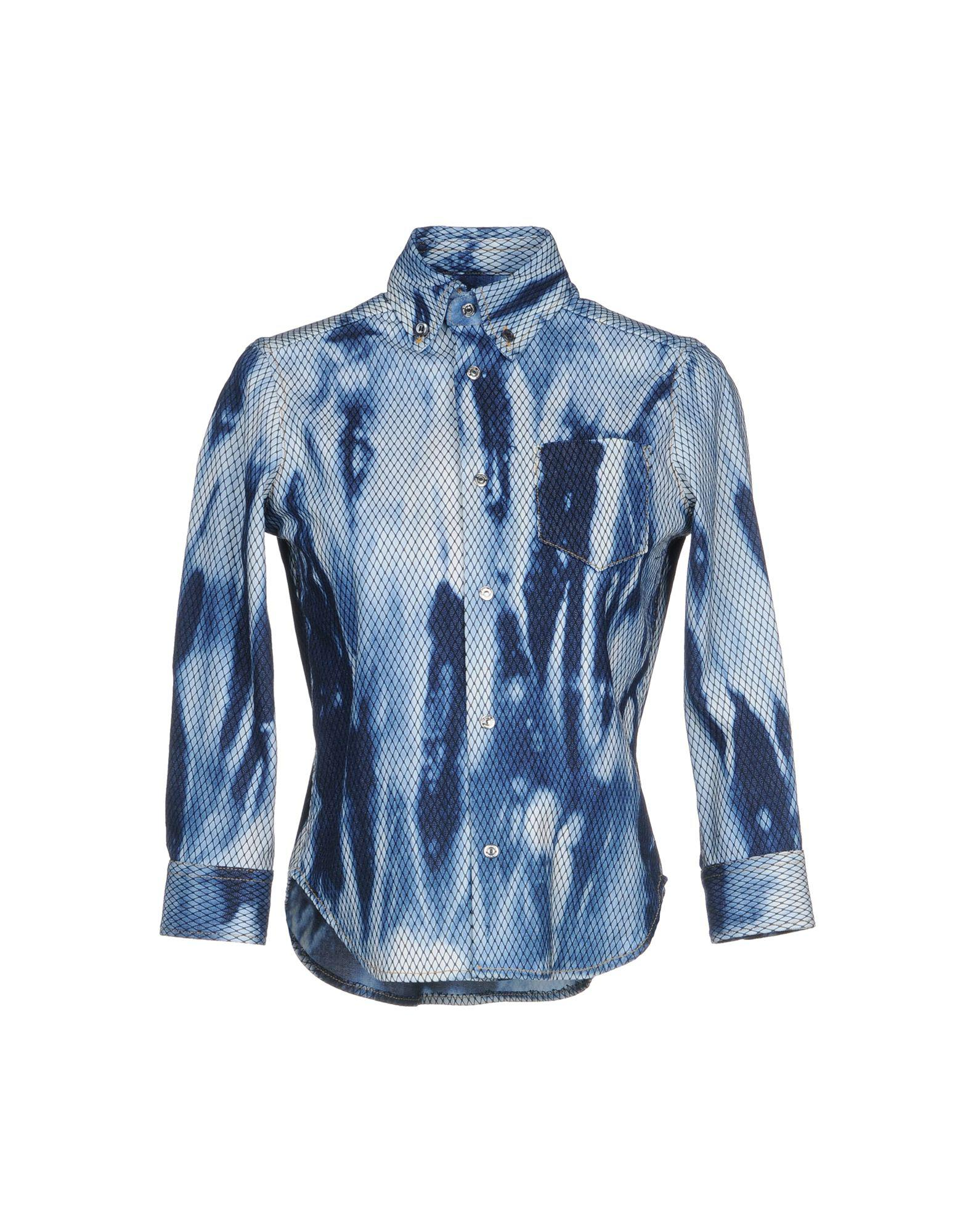 dcdfafea61 Lyst - Dsquared² Denim Shirts in Blue for Men