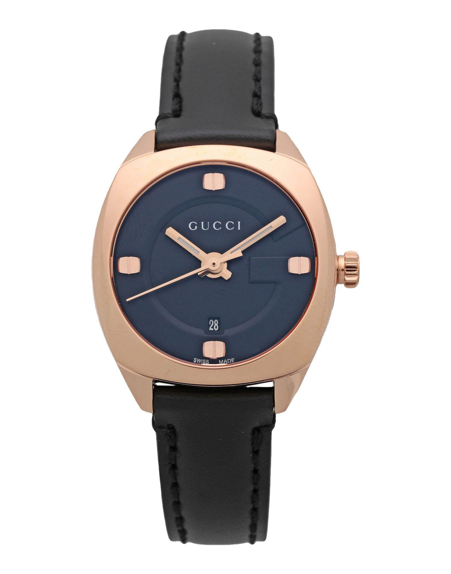 Gucci Wrist Watch in Black - Lyst