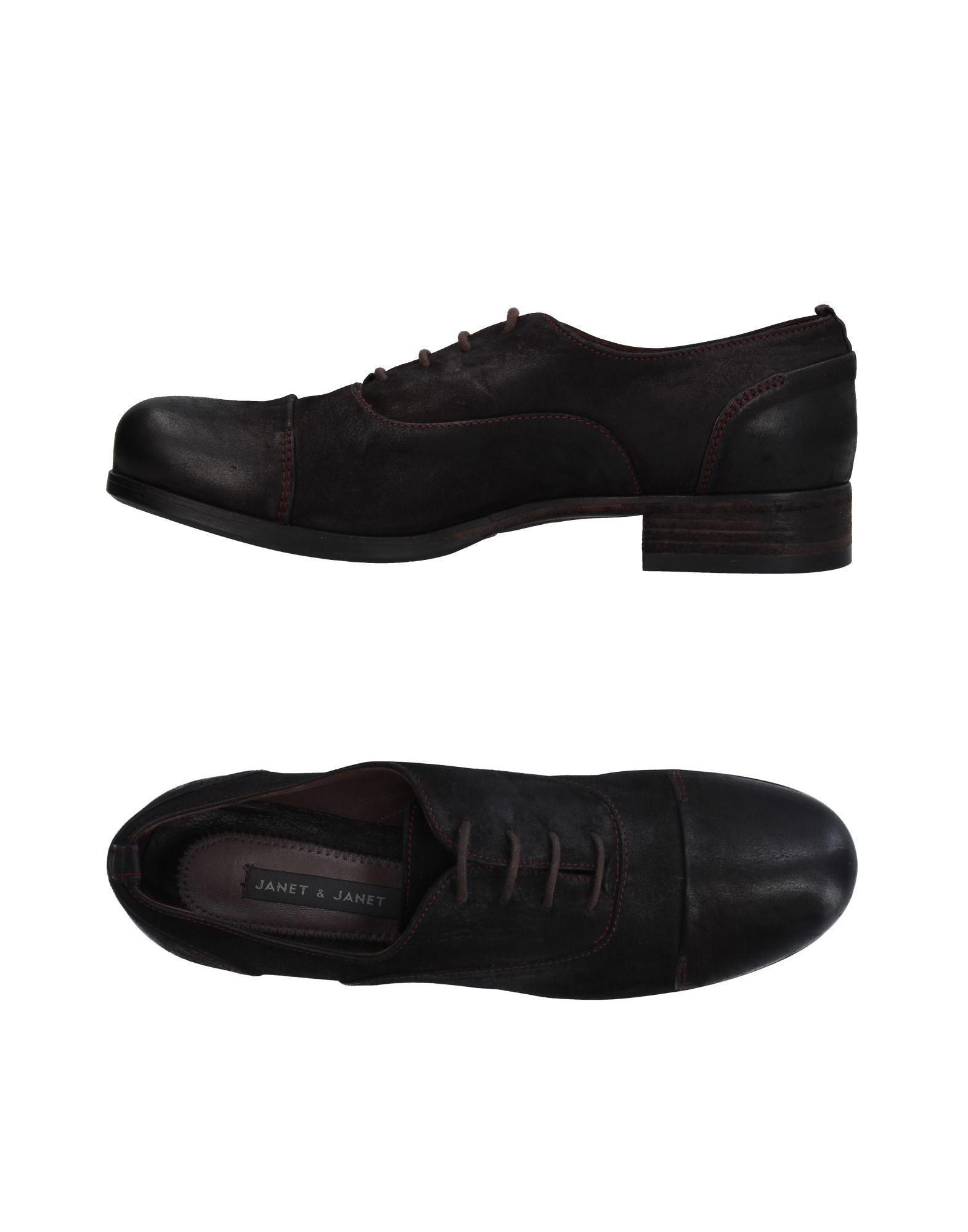 & Chaussures Janet Janet À Lacets jjpSzwH